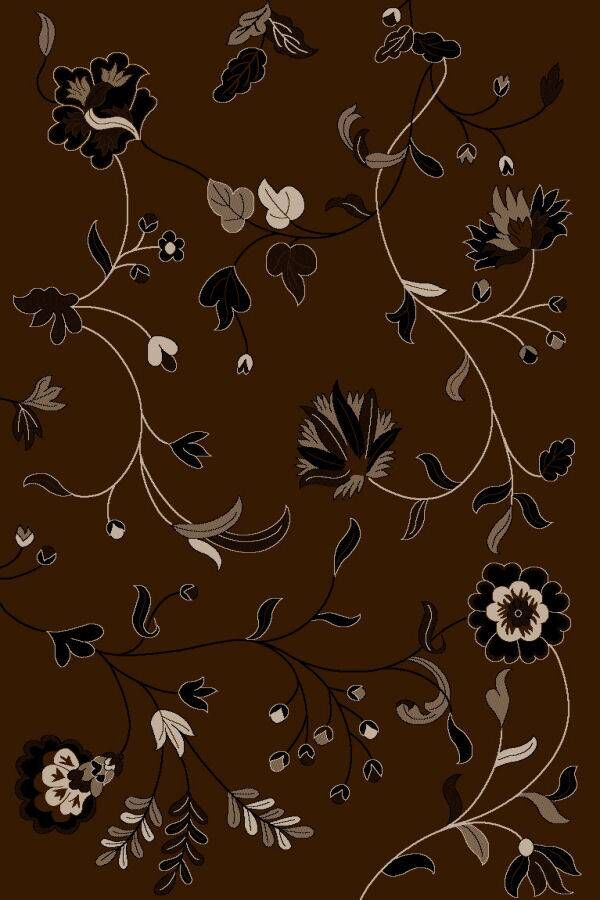 Chocolate Area Rug Rug Size: Rectangle 7'10