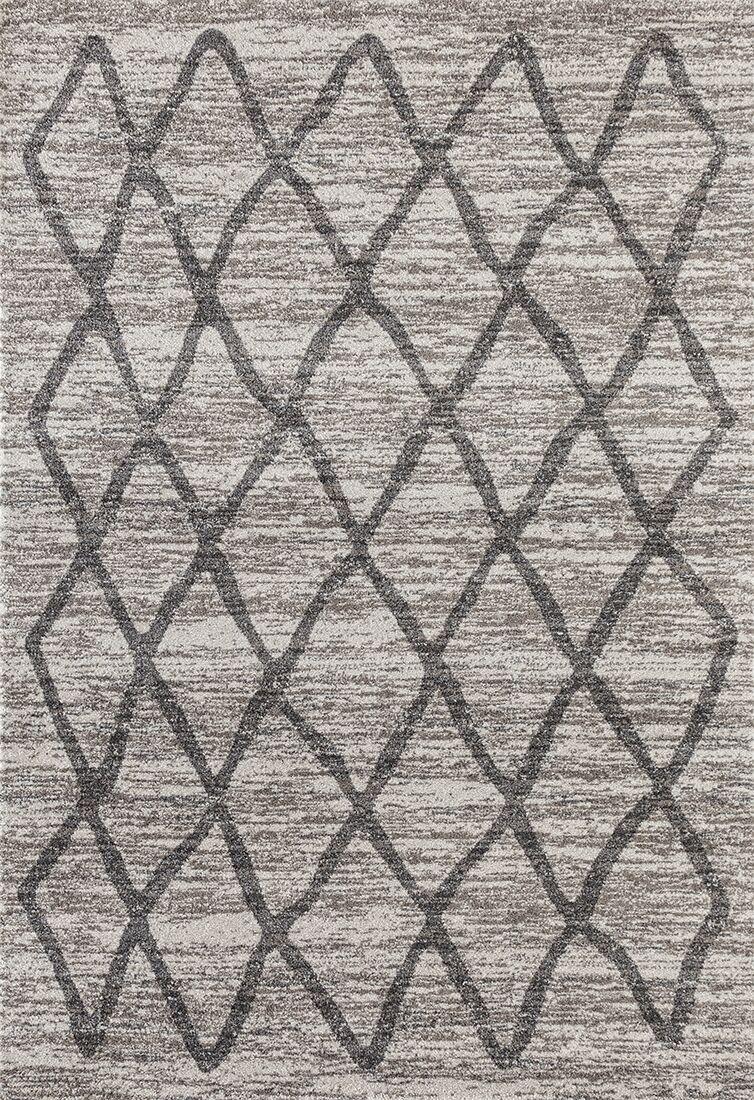 Dunmurry Gray Area Rug Rug Size: Rectangle 5'2