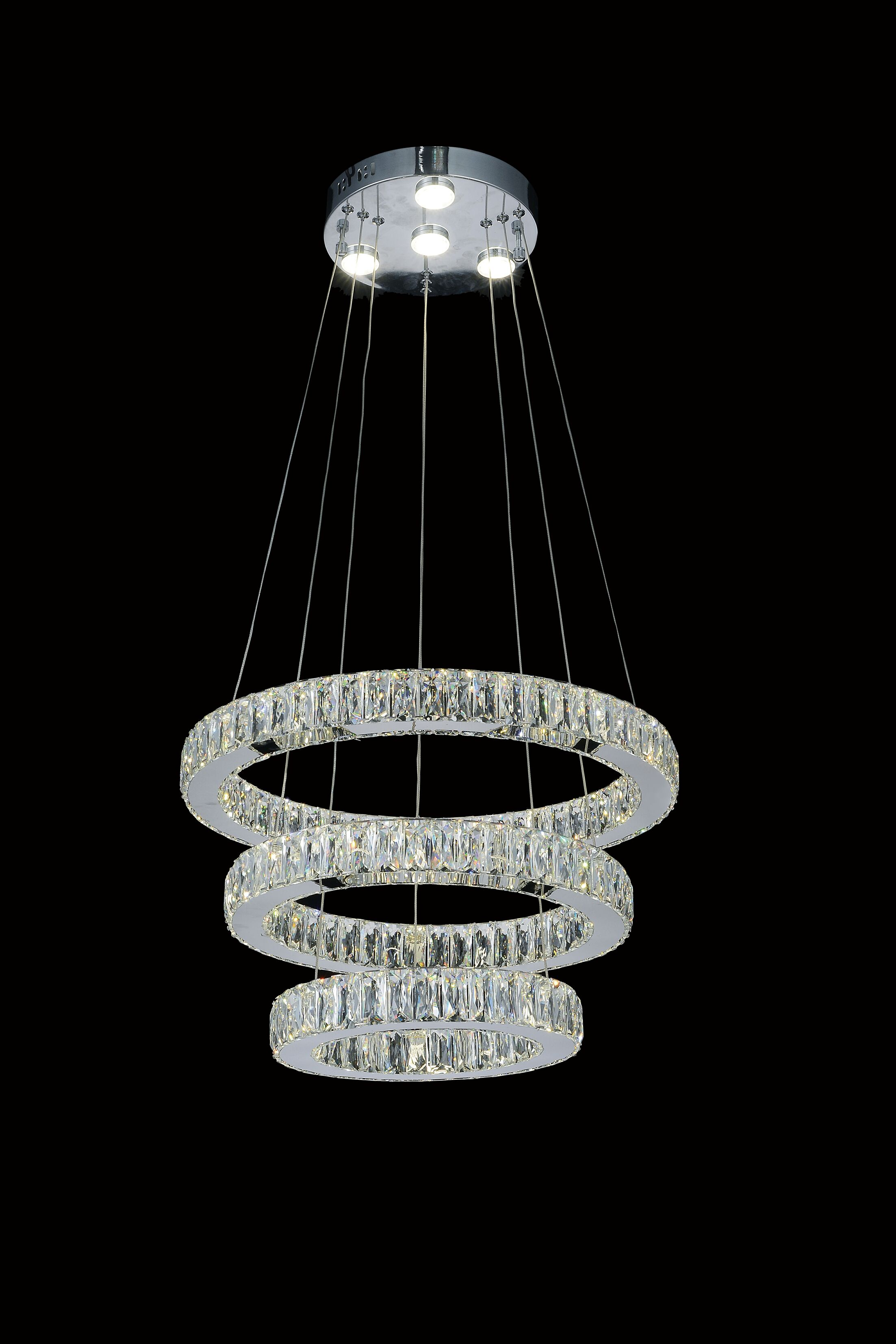 Florence Crystal Chandelier Crystal Color: Clear