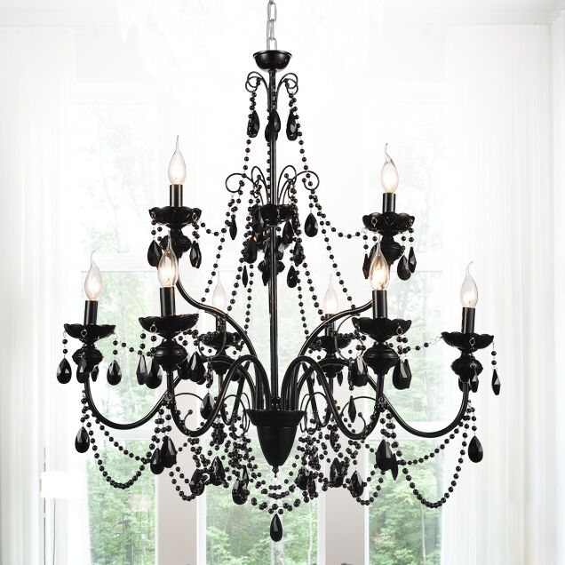 Keen 9-Light Candle Style Chandelier
