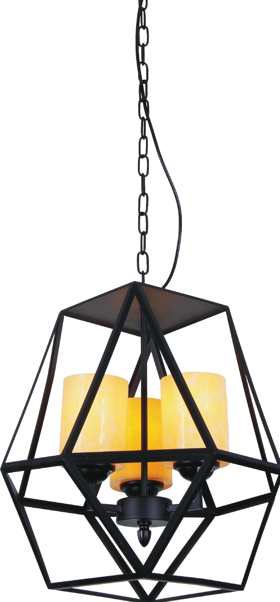 Trenton 9-Light Geometric Chandelier
