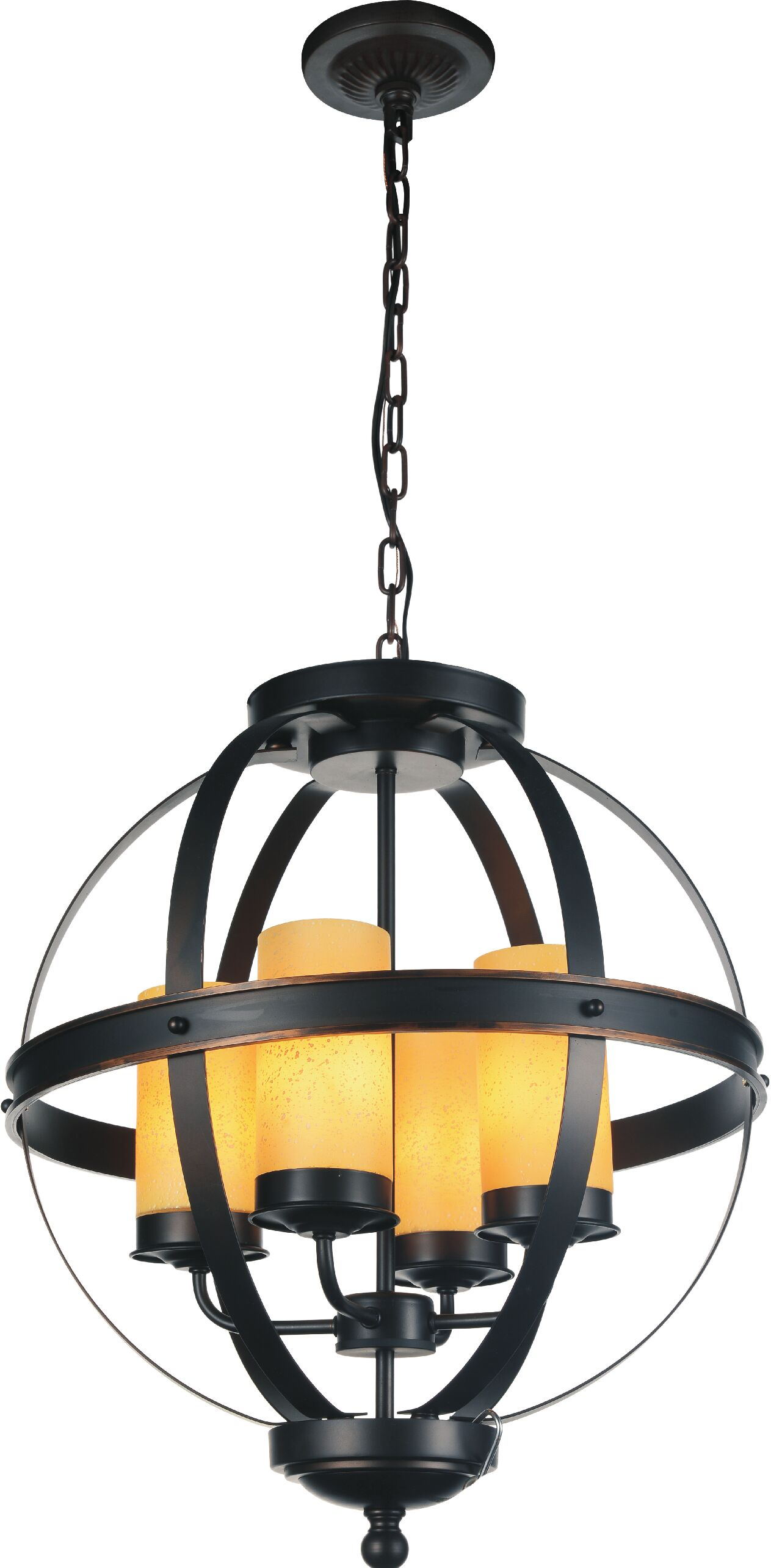 Irene 4-Light Globe Chandelier