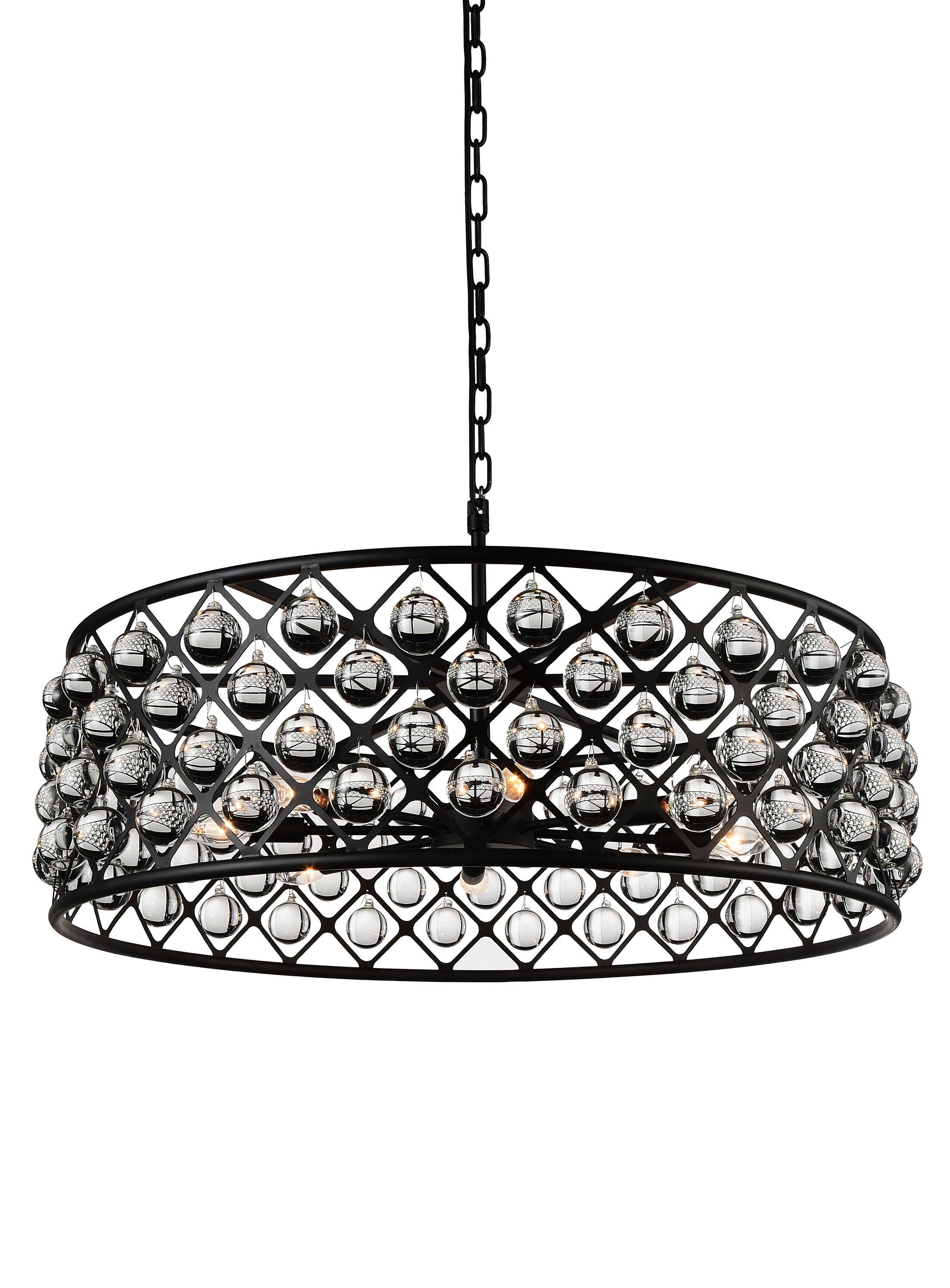 Barker 8-Light Pendant