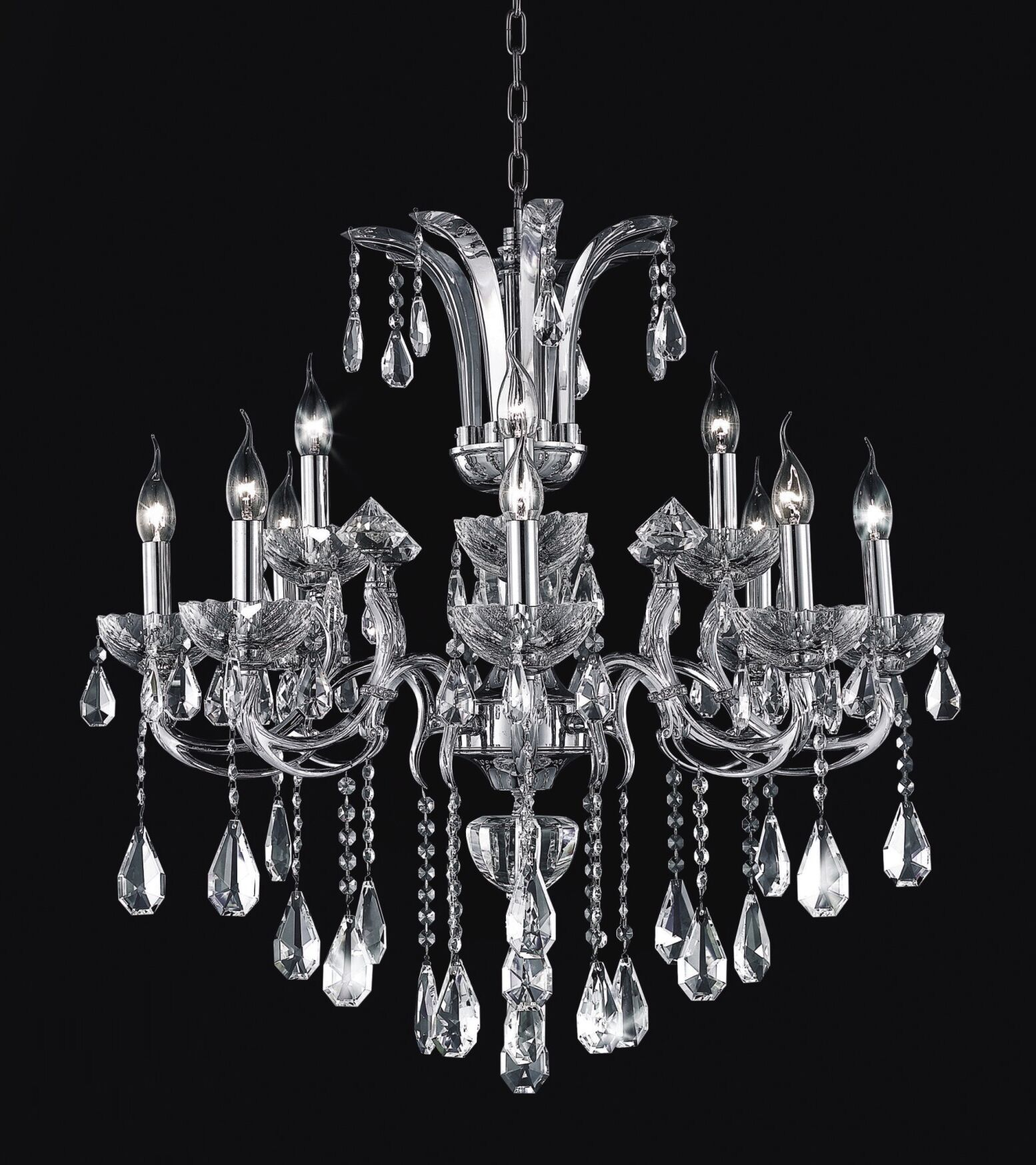 Combs 12-Light Chandelier