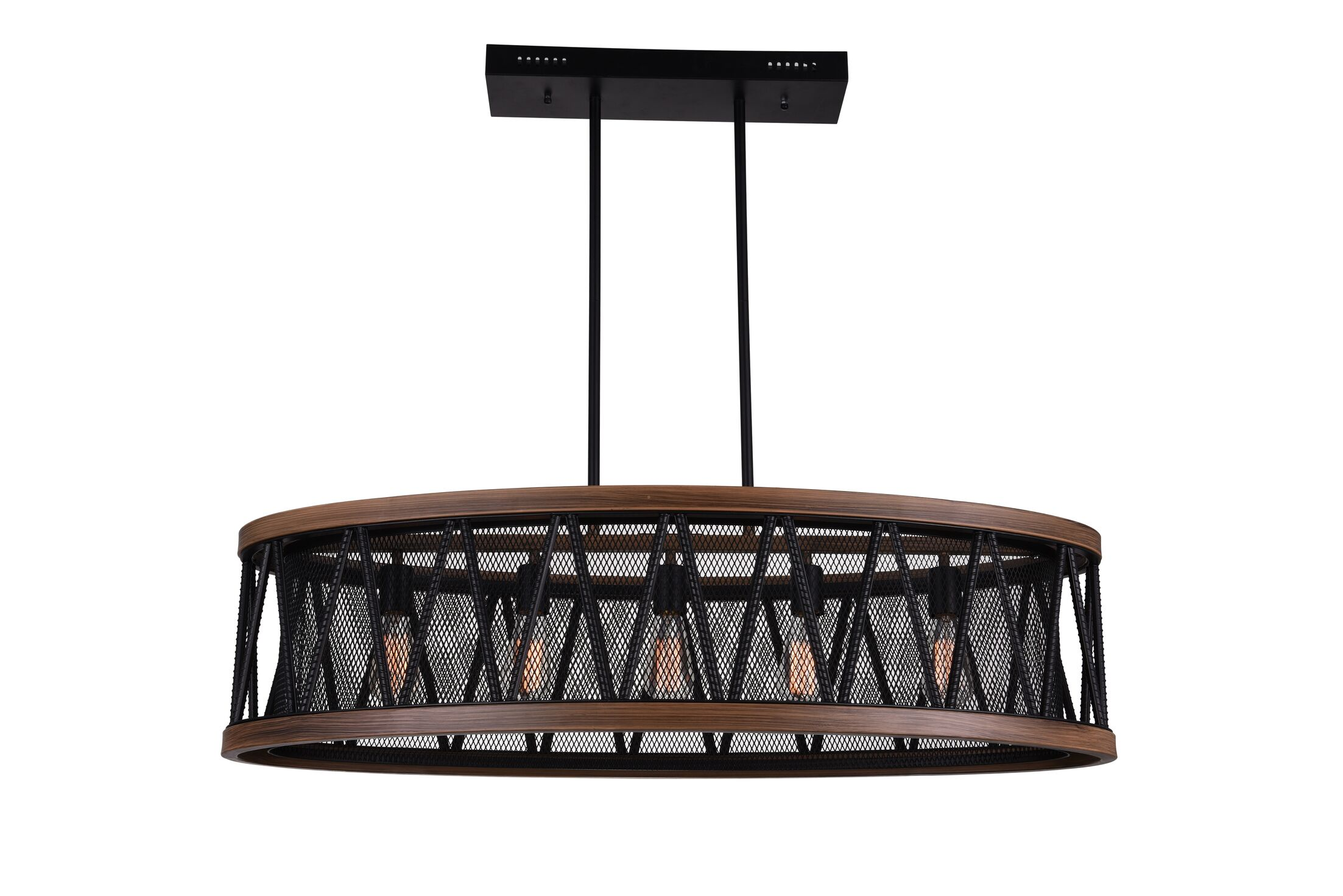 Parsh 5-Light LED Kitchen Island Chandelier