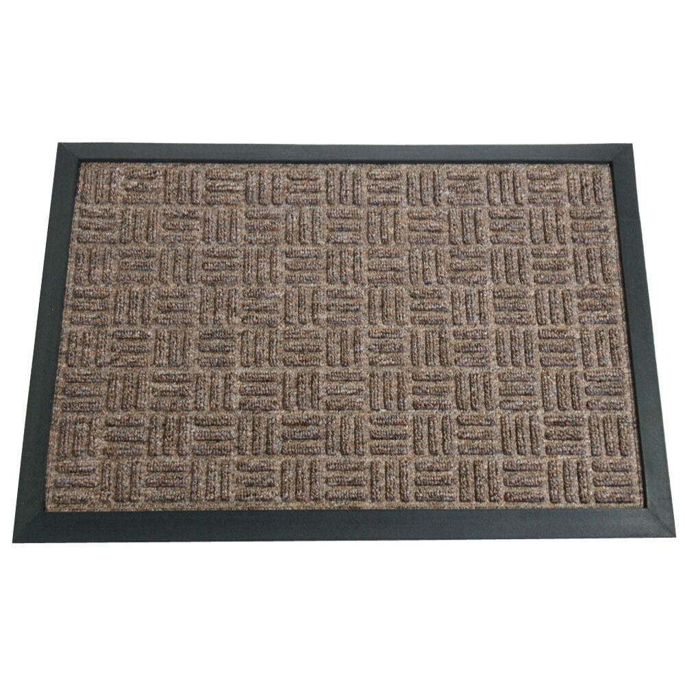Wellington Doormat Color: Brown