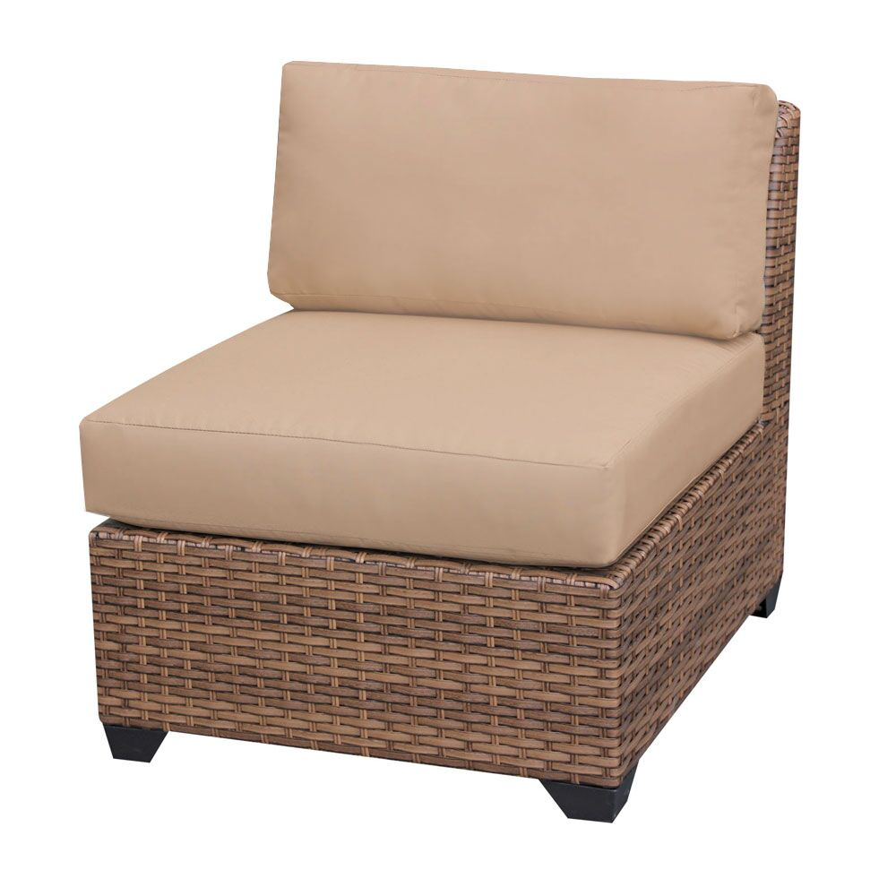 East Village Deep Seating Group with Cushions Color: Wheat