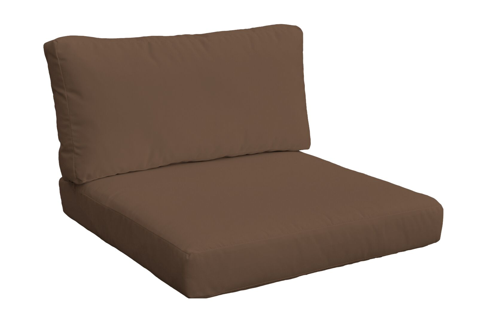 2 Piece Outdoor Lounge Chair Cushion Set Size: 17