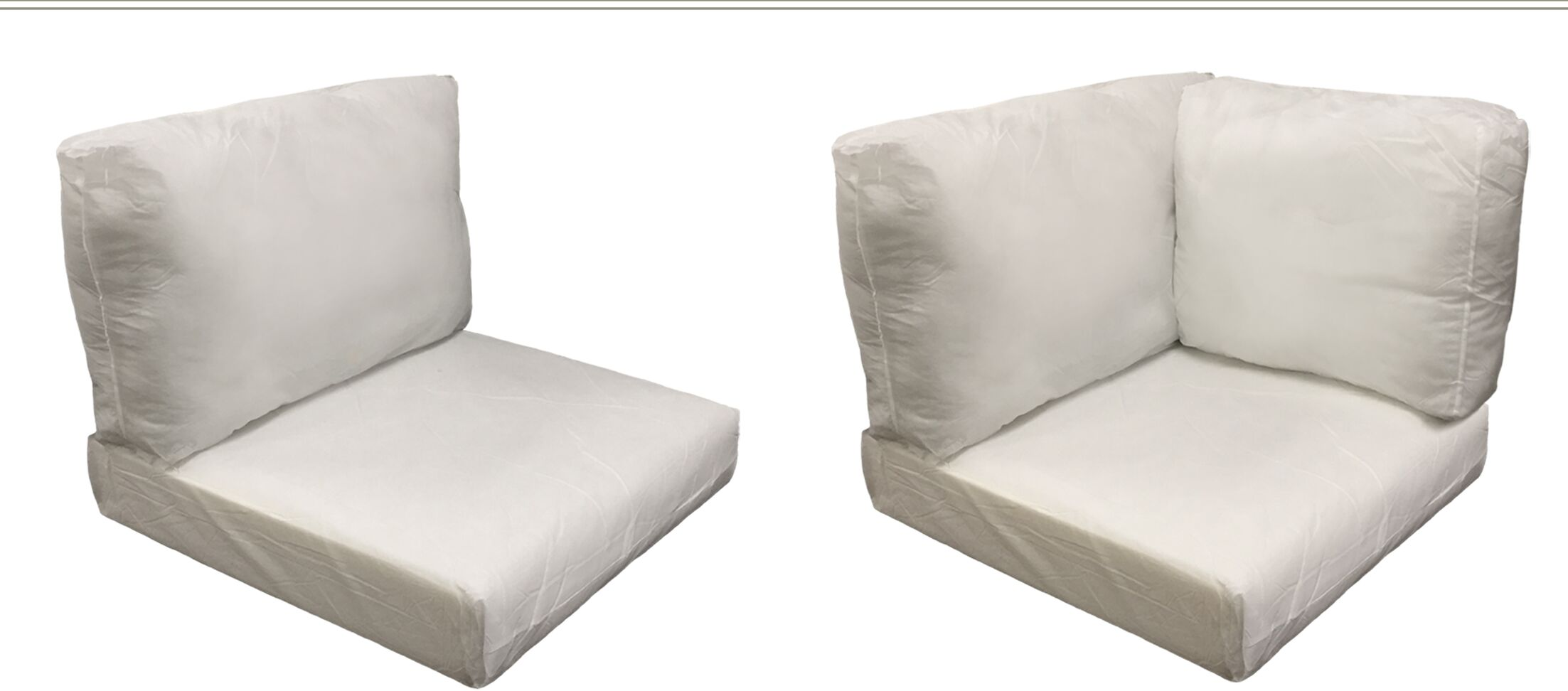 Florence 24 Piece Outdoor Cushion Set Fabric: Coverless