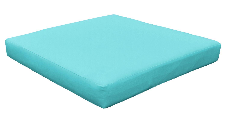Outdoor Ottoman Cushion Size: 4