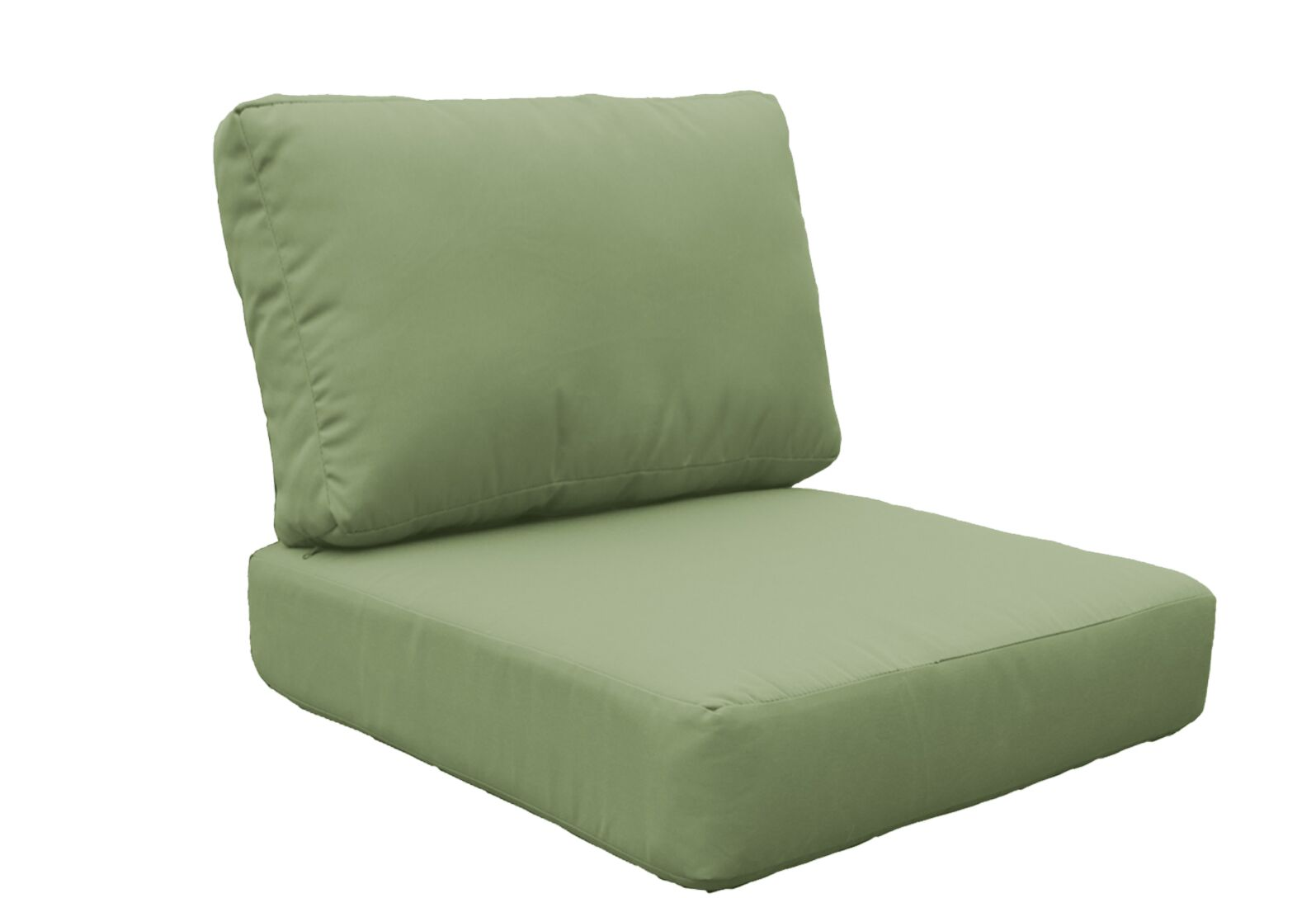 Miami 8 Piece Outdoor Lounge Chair Cushion Set Fabric: Cilantro