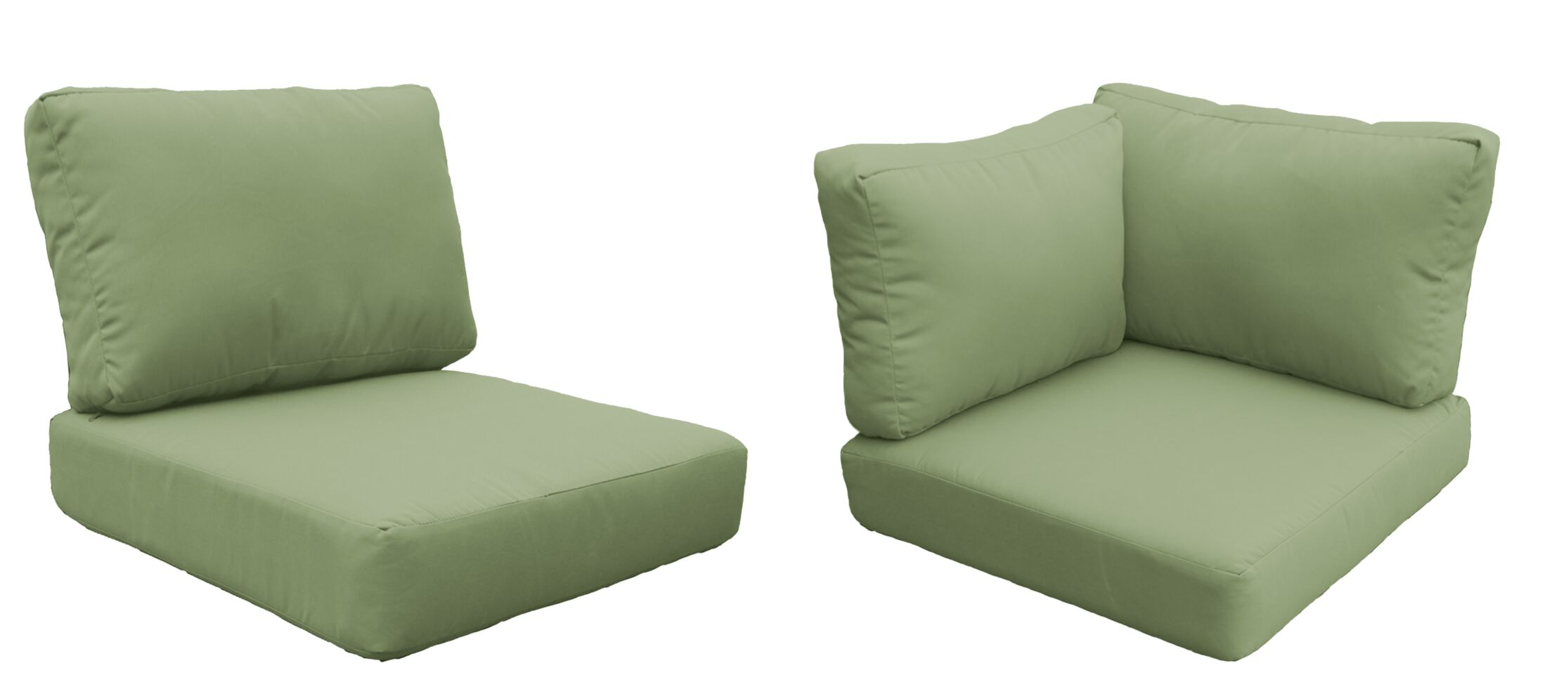 Barbados Outdoor Lounge Chair Cushion Fabric: Cilantro