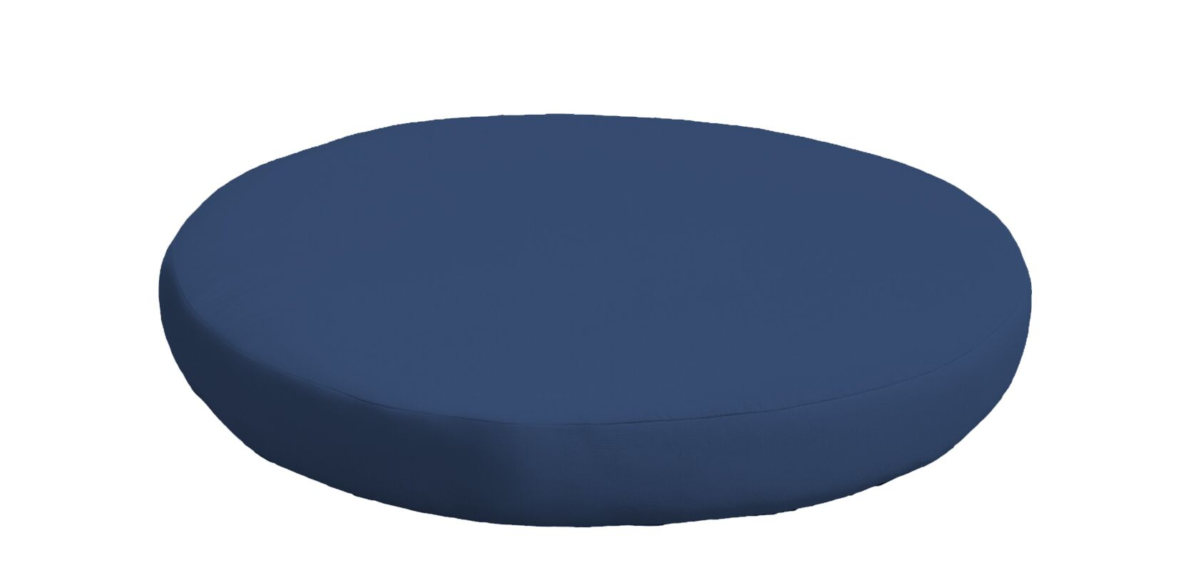 Outdoor Ottoman Cushion Fabric: Navy