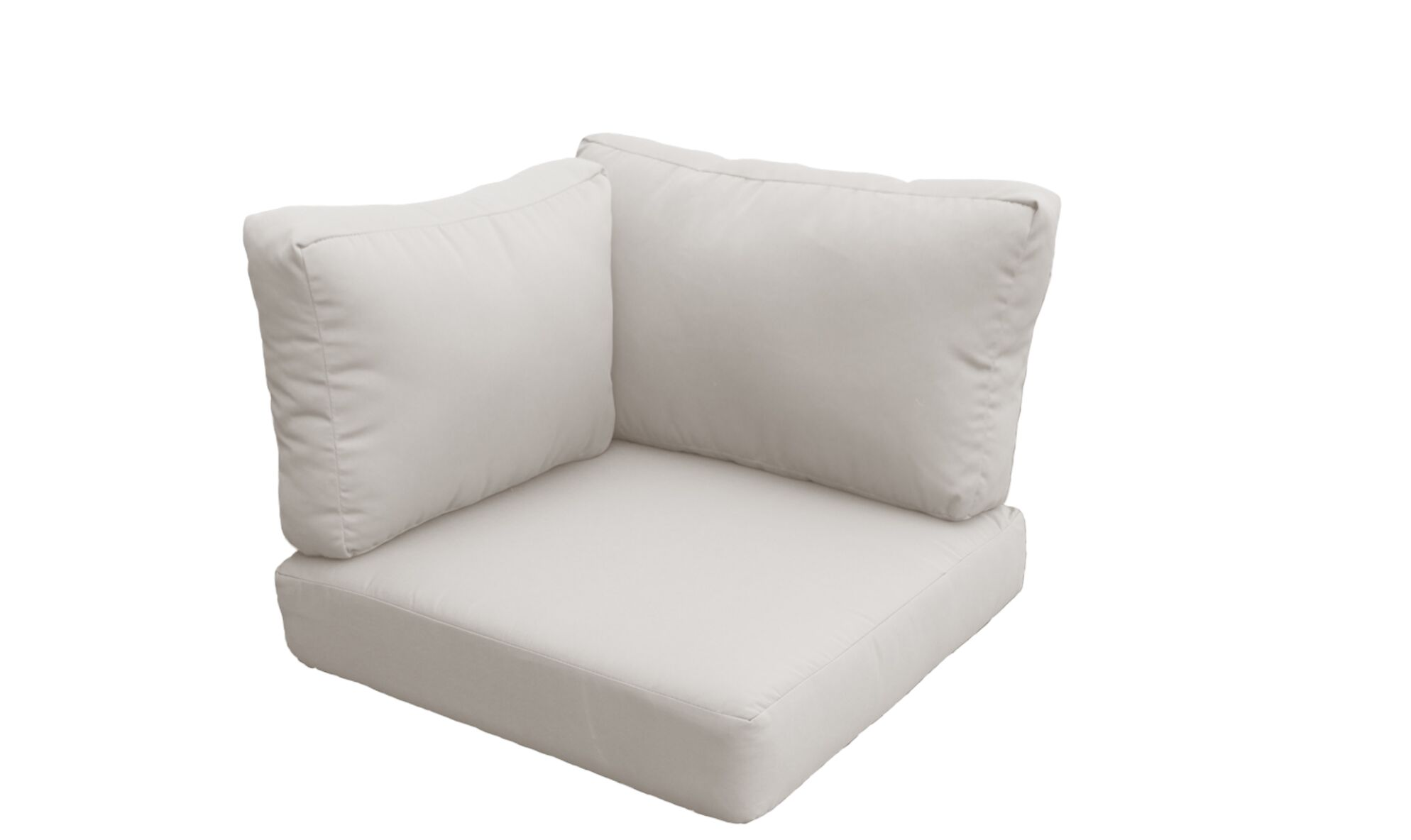 Florence Outdoor Replacement Cushion Set Fabric: Beige