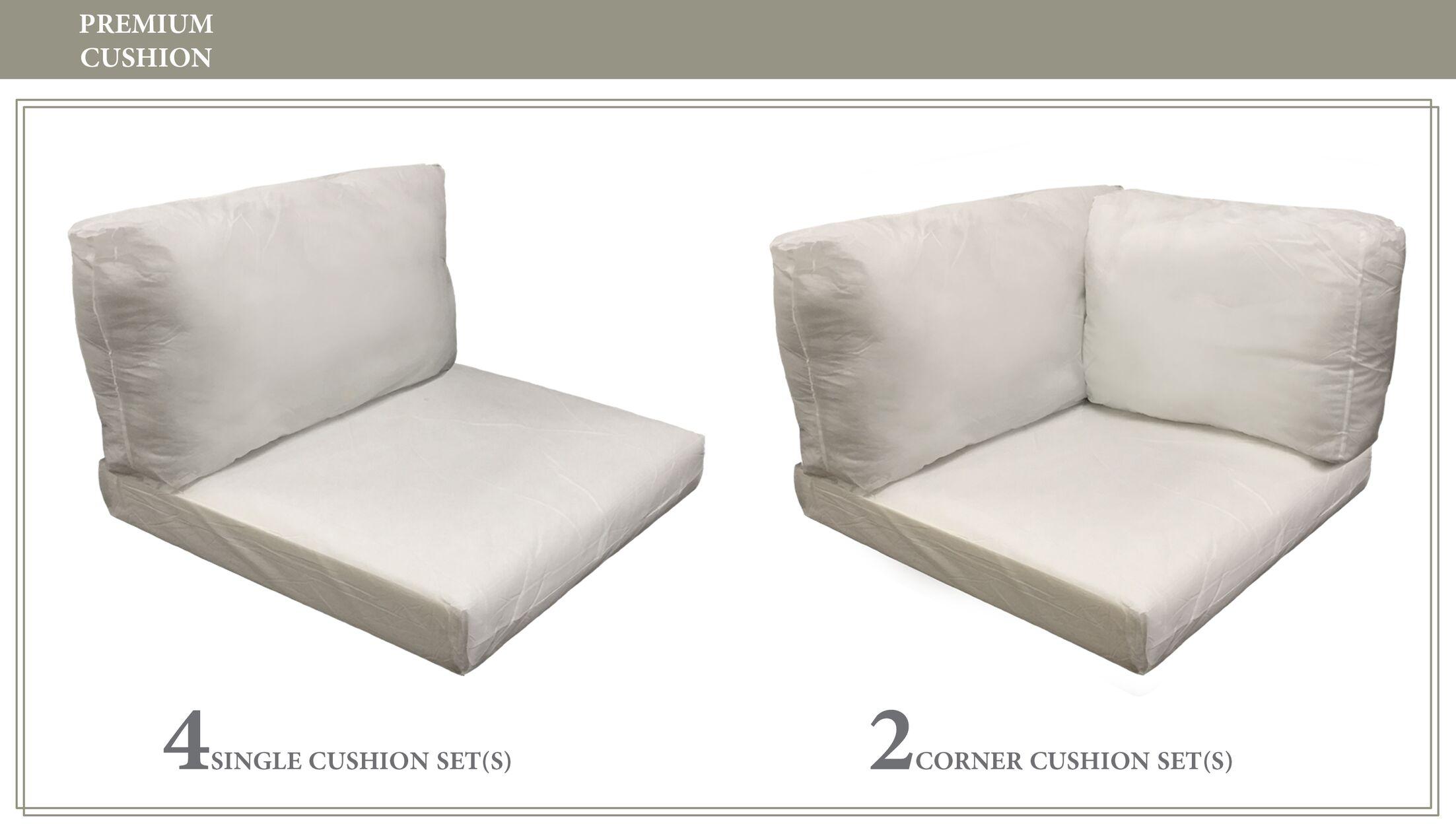 Monaco 14 Piece Outdoor Cushion Set
