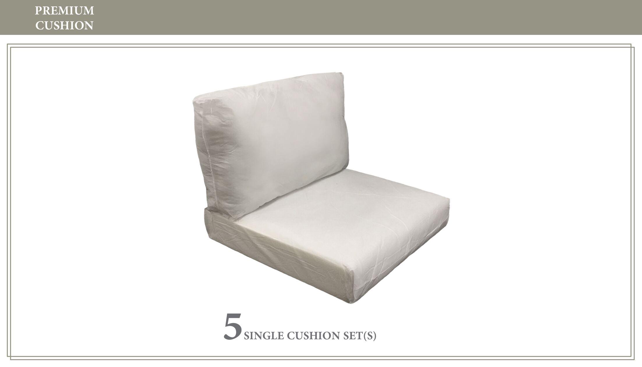 Fairmont 10 Piece Outdoor Lounge Chair Cushion Set