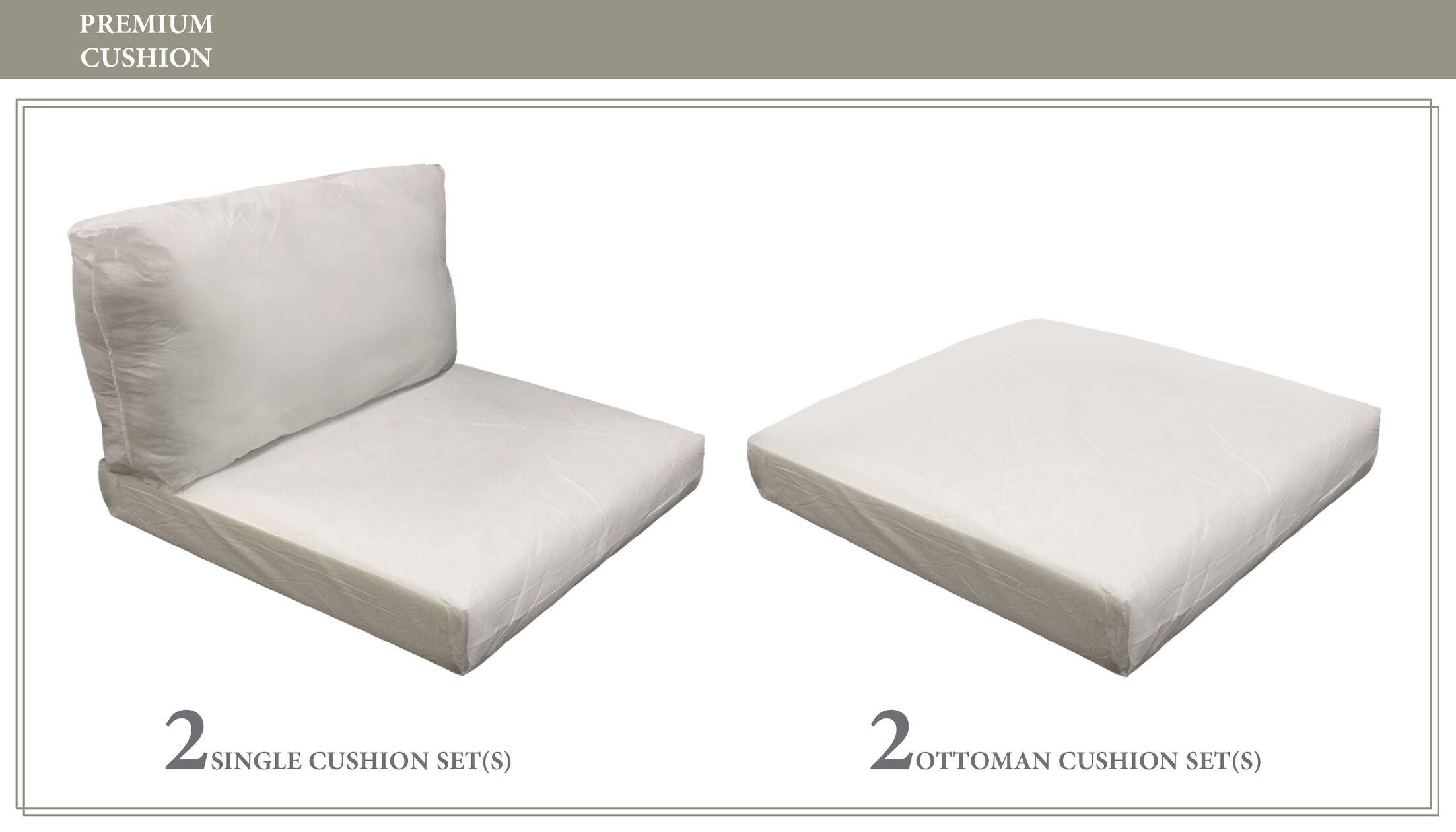 Monterey 6 Piece Outdoor Cushion Set