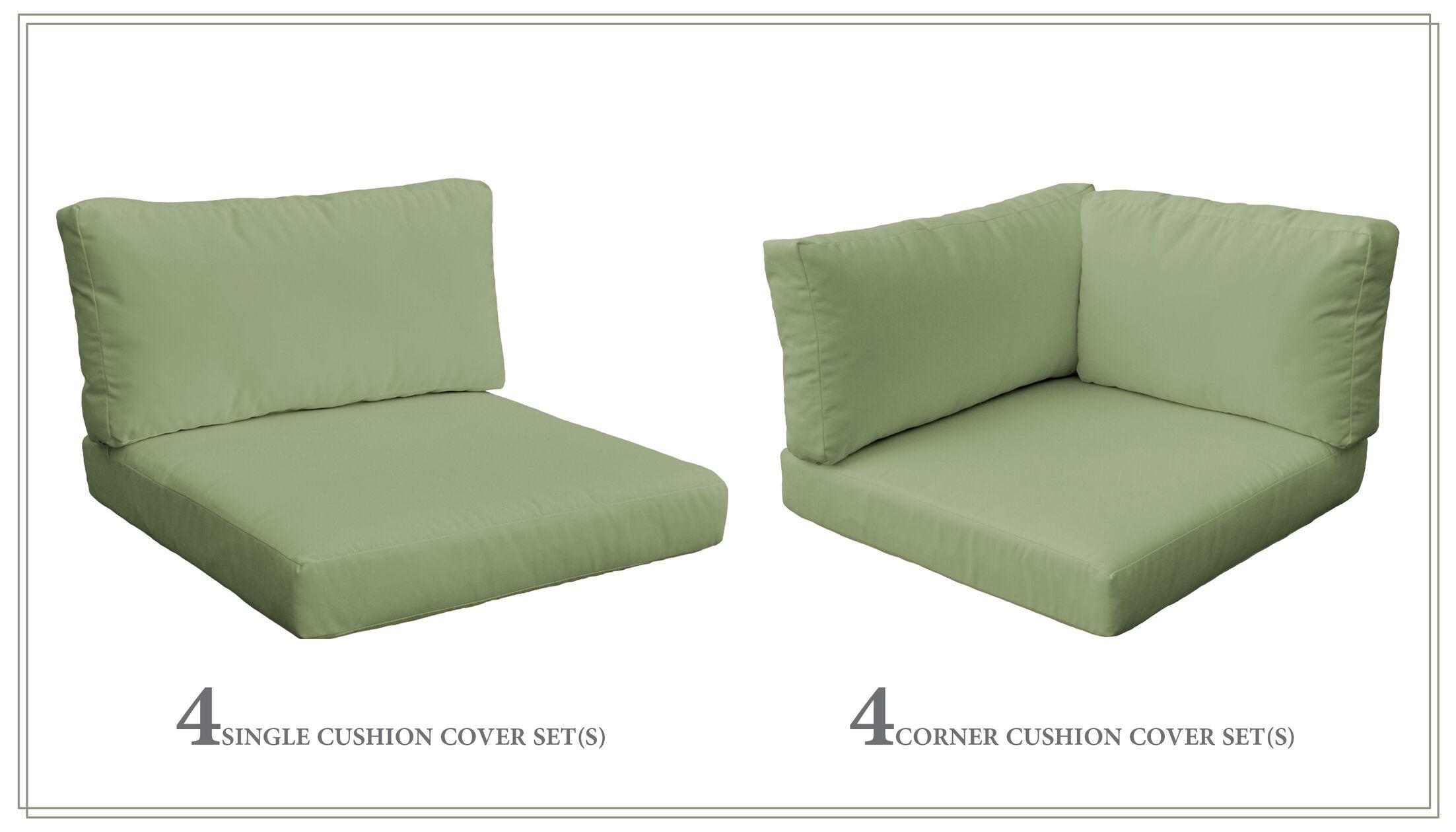 Monterey 20 Piece Outdoor Cushion Set Fabric: Cilantro