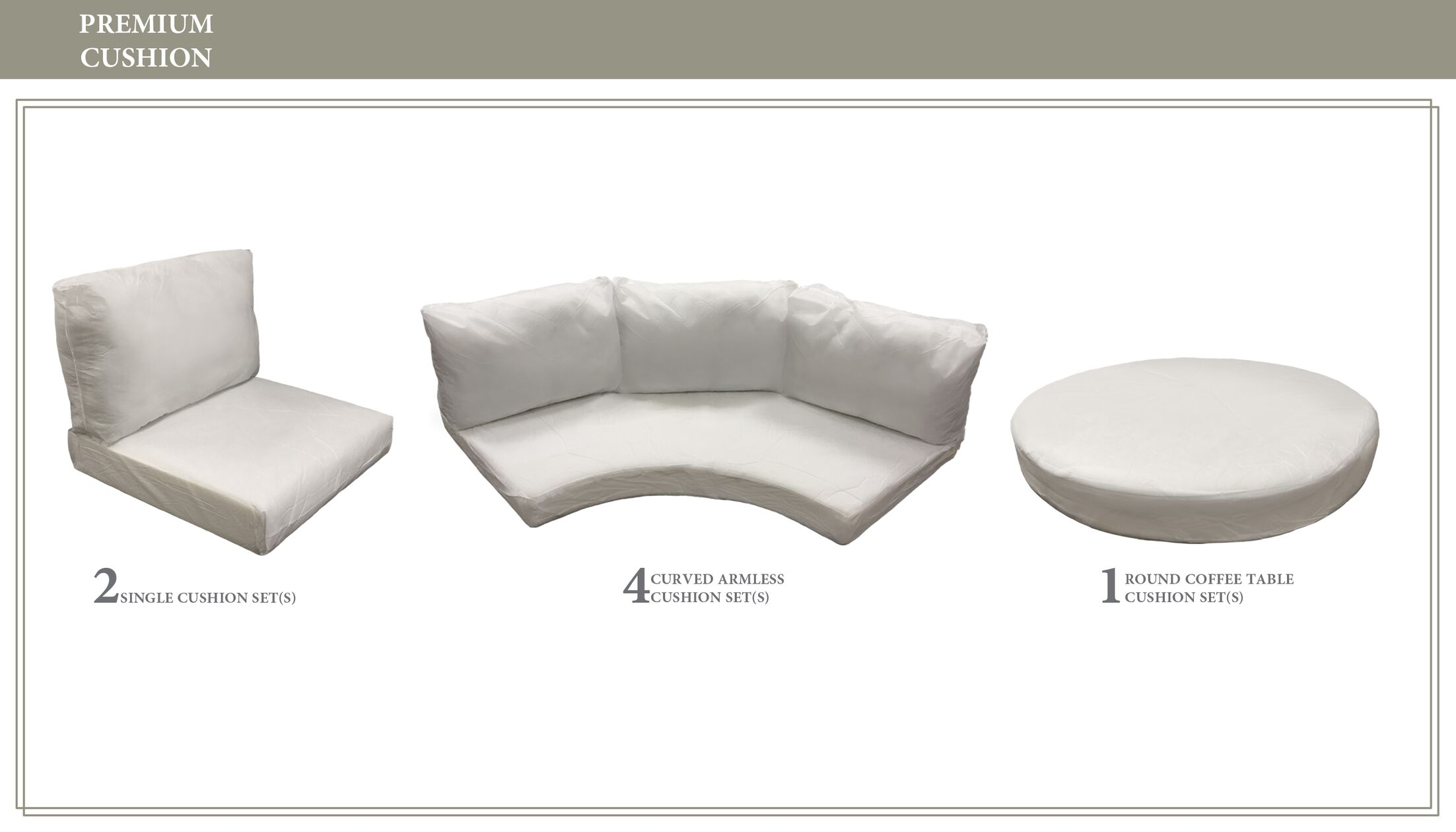 East Village 21 Piece Outdoor Cushion Set