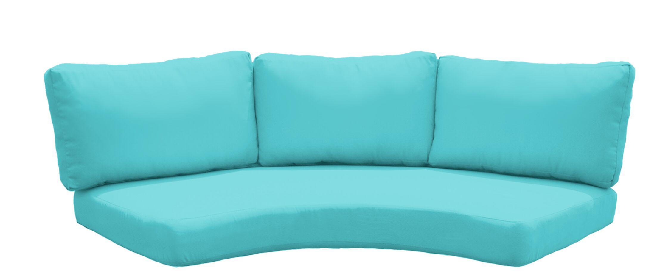 Fairmont Outdoor�Sofa Cushion Set Fabric: Aruba