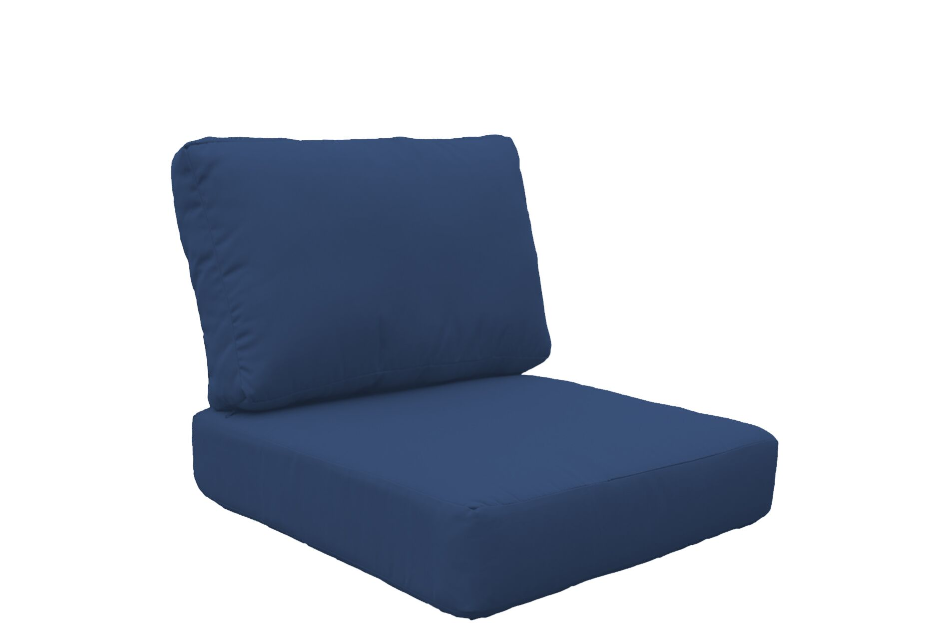 Fairmont 4 Piece Outdoor�Lounge Chair Cushion Set Fabric: Navy