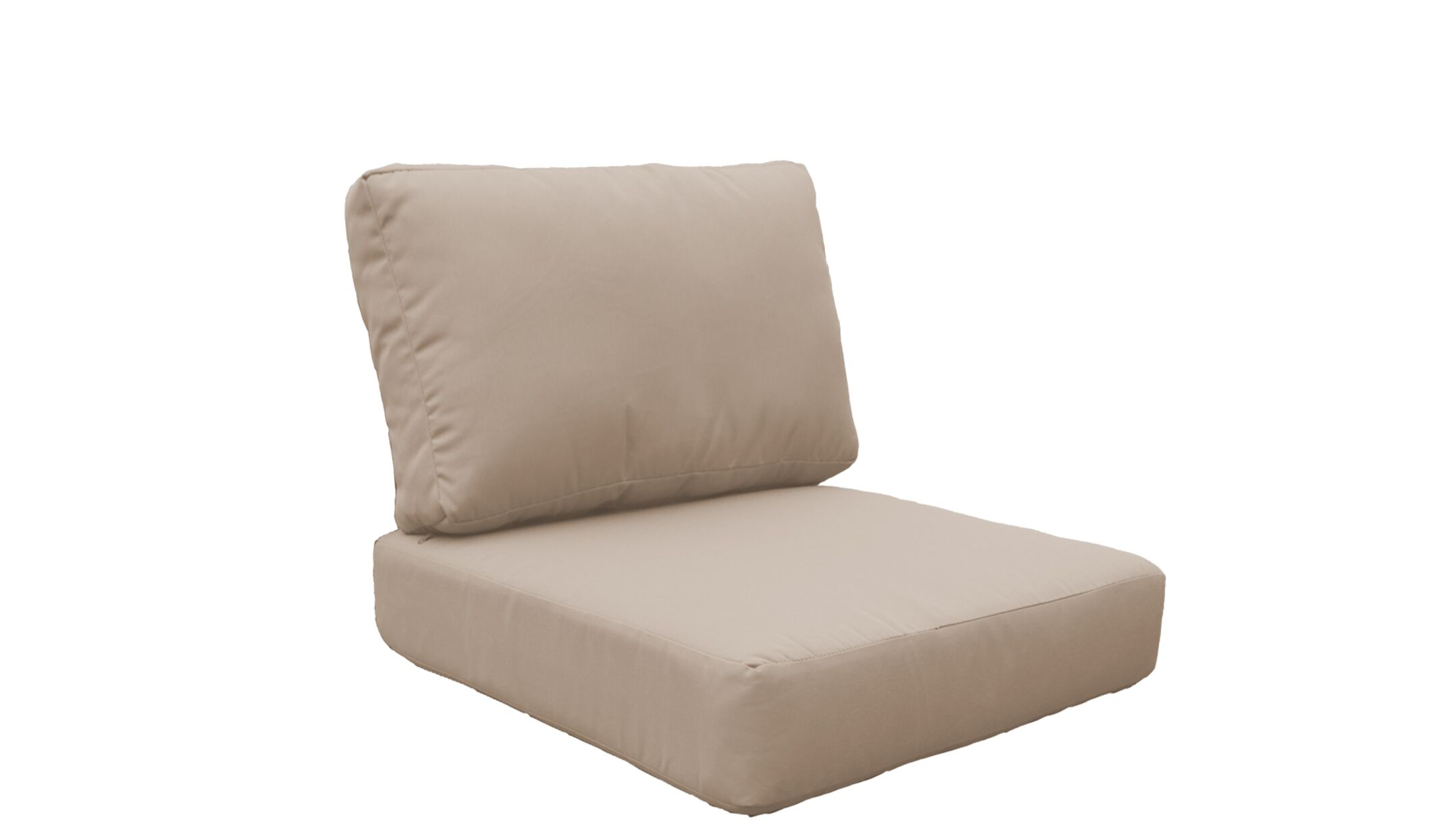 Fairmont 4 Piece Outdoor�Lounge Chair Cushion Set Fabric: Wheat