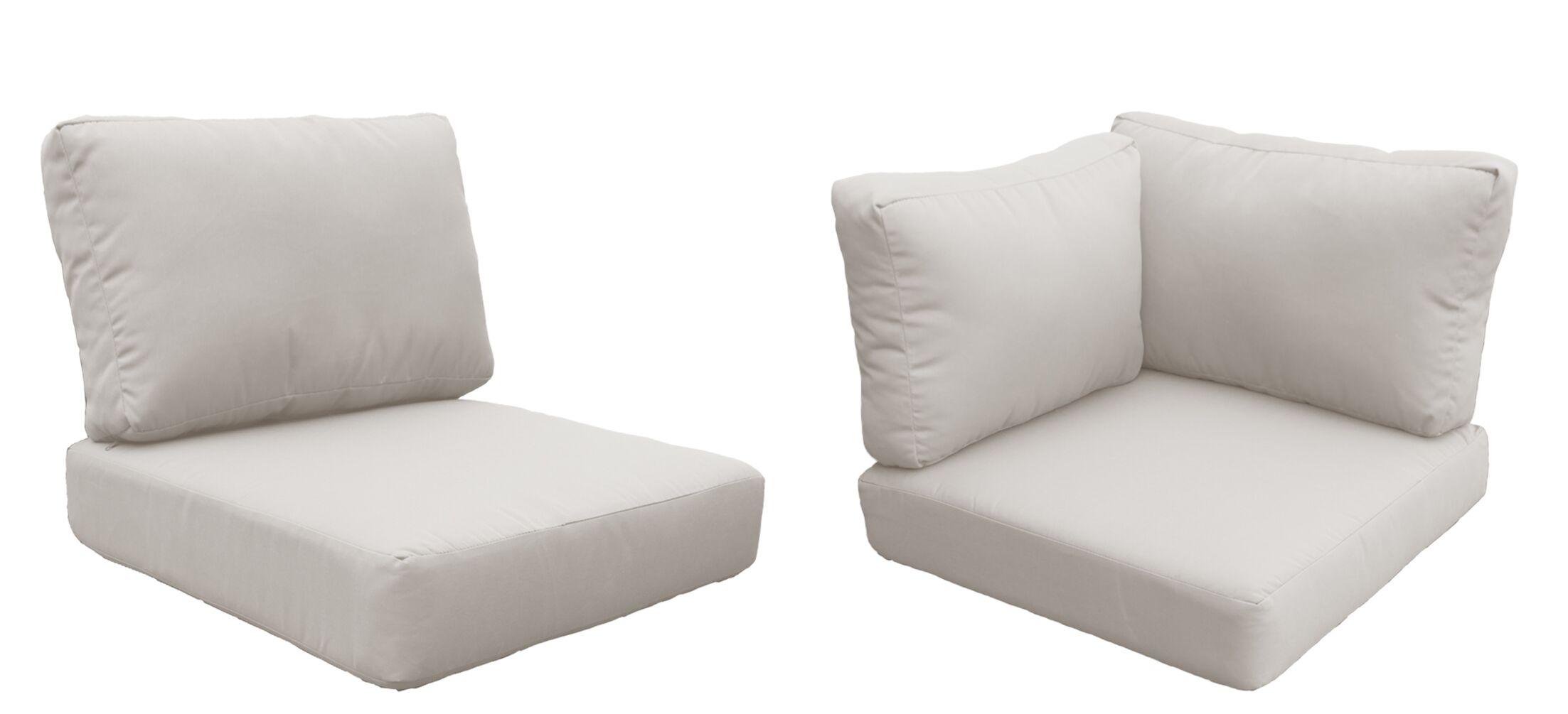 Fairmont 19 Piece Outdoor�Lounge Chair Cushion Set Fabric: Cilantro