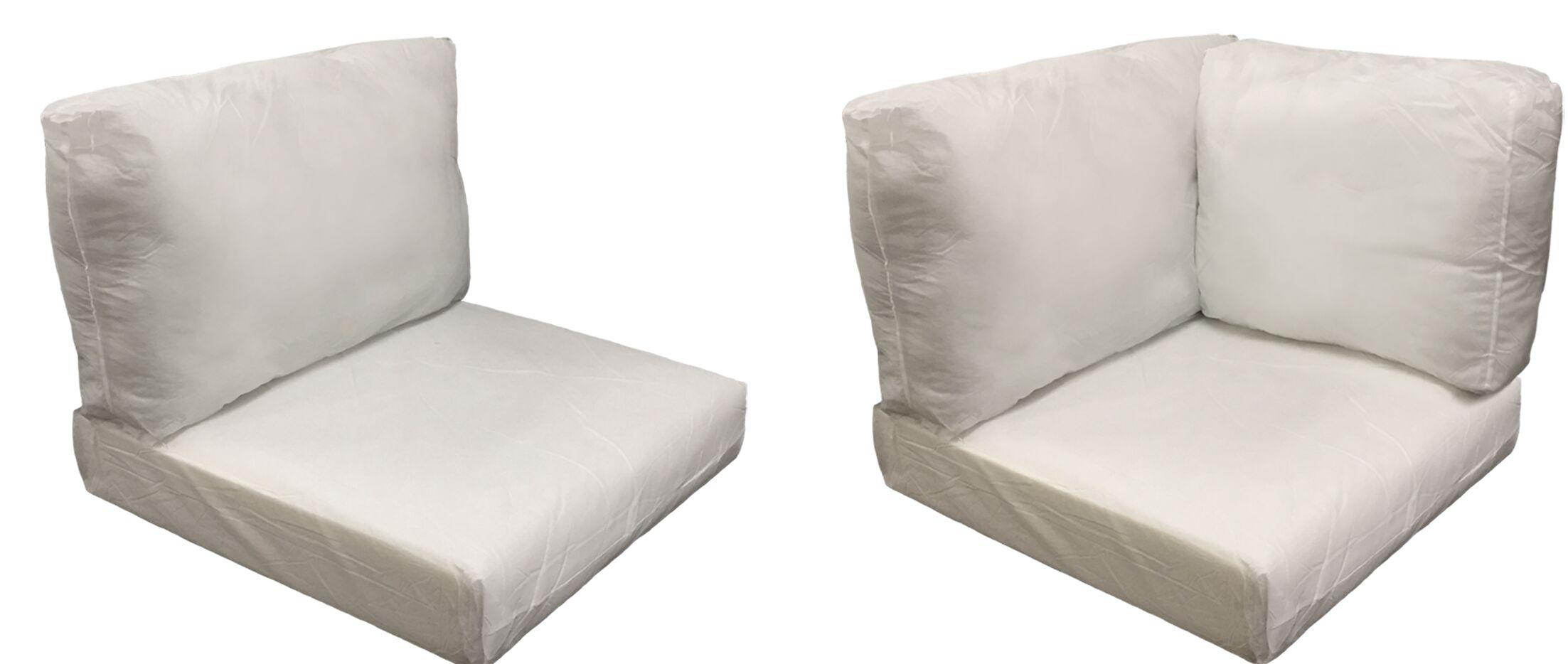 Eldredge Outdoor 10 Piece Lounge Chair Cushion Set