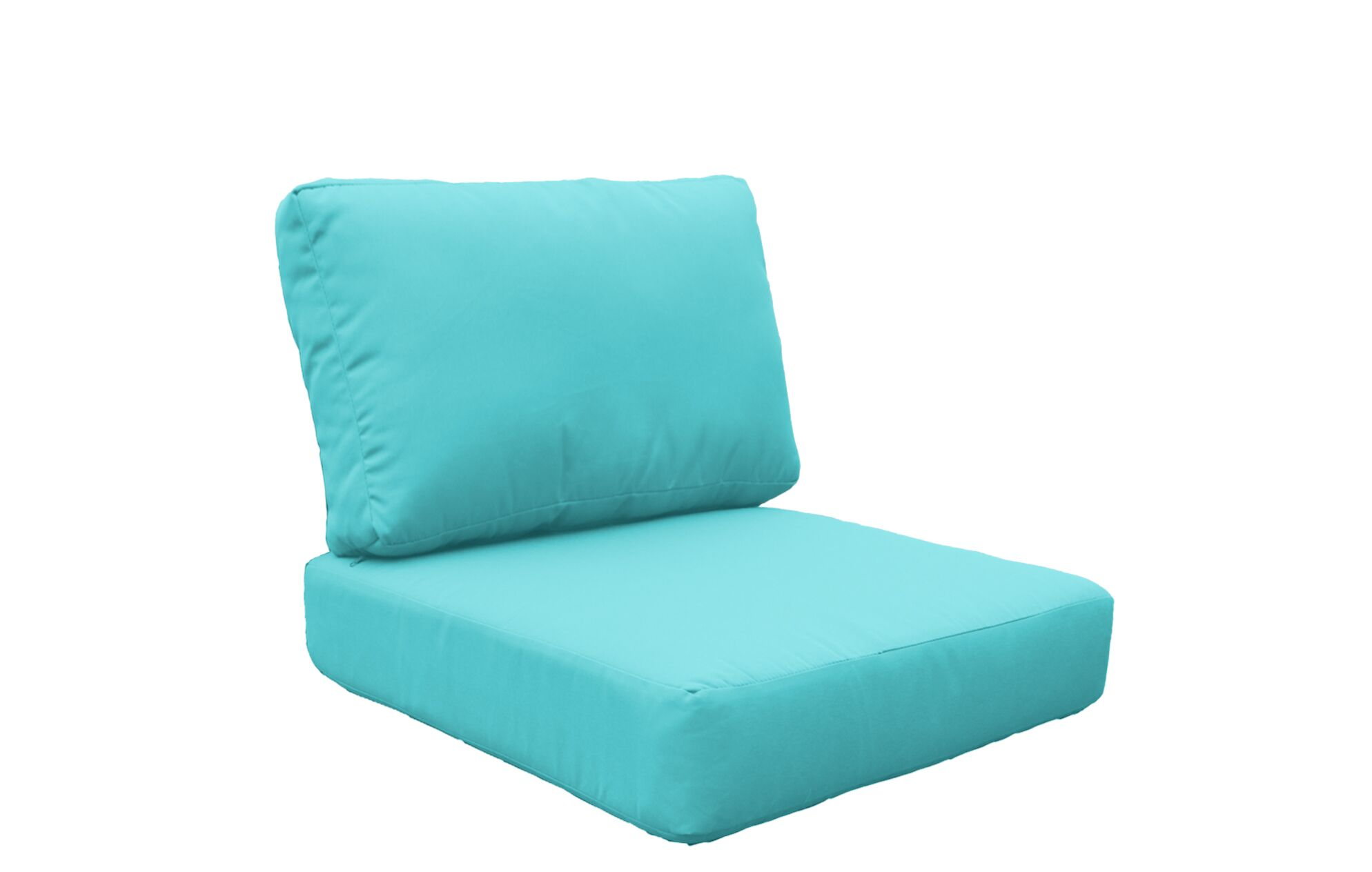 Coast 8 Piece OutdoorLounge Chair Cushion Set Fabric: Aruba