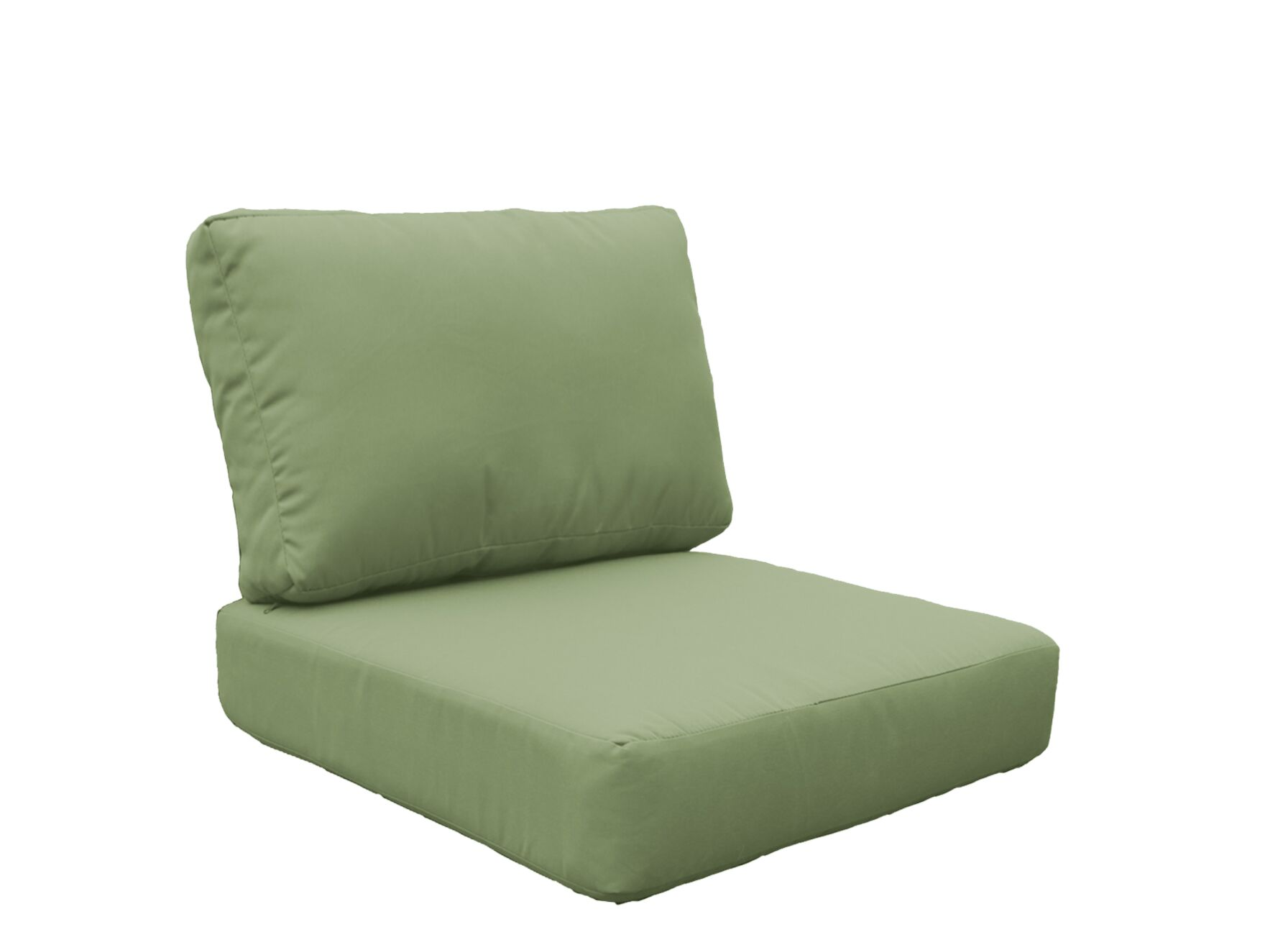 Fairmont 8 Piece Outdoor�Lounge Chair Cushion Set Fabric: Cilantro