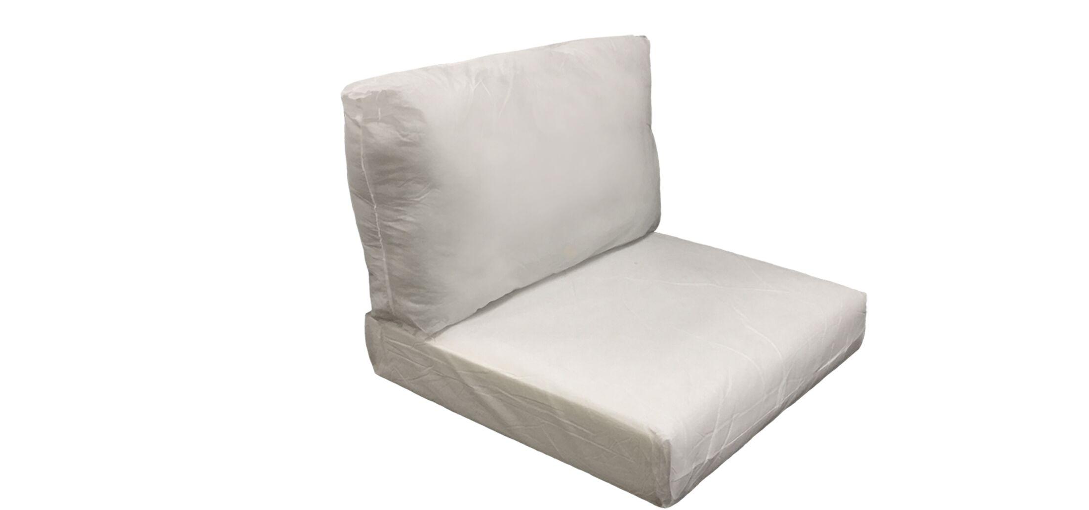 Manhattan Outdoor 4 Piece Lounge Chair Cushion Set