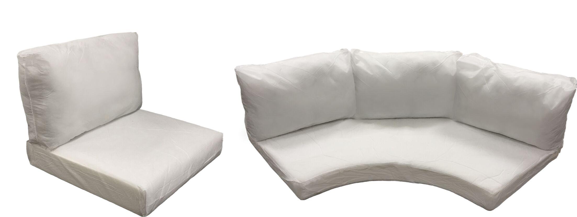 East Village Outdoor 10 Piece Lounge Chair Cushion Set