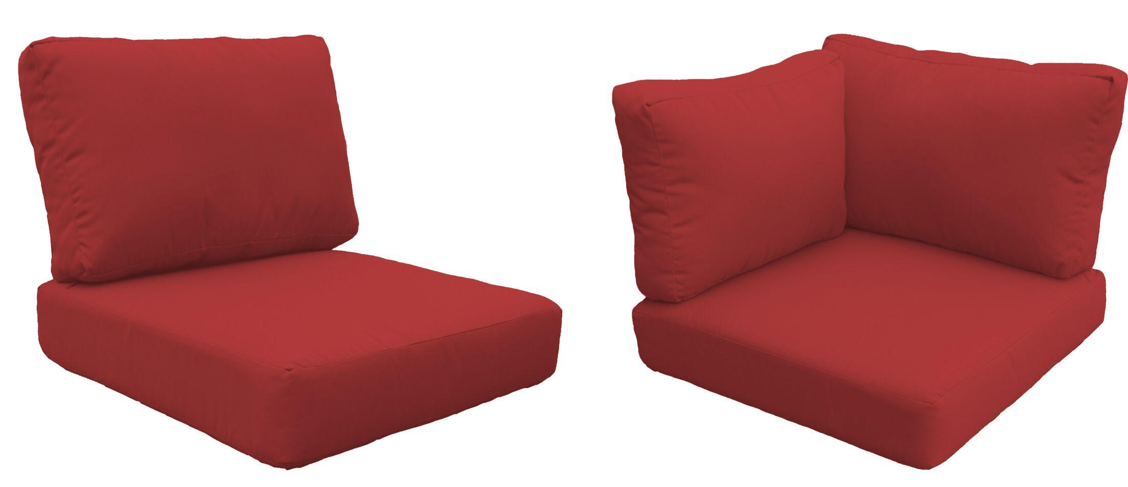Fairmont Outdoor�Replacement Cushion Set Fabric: Terracotta