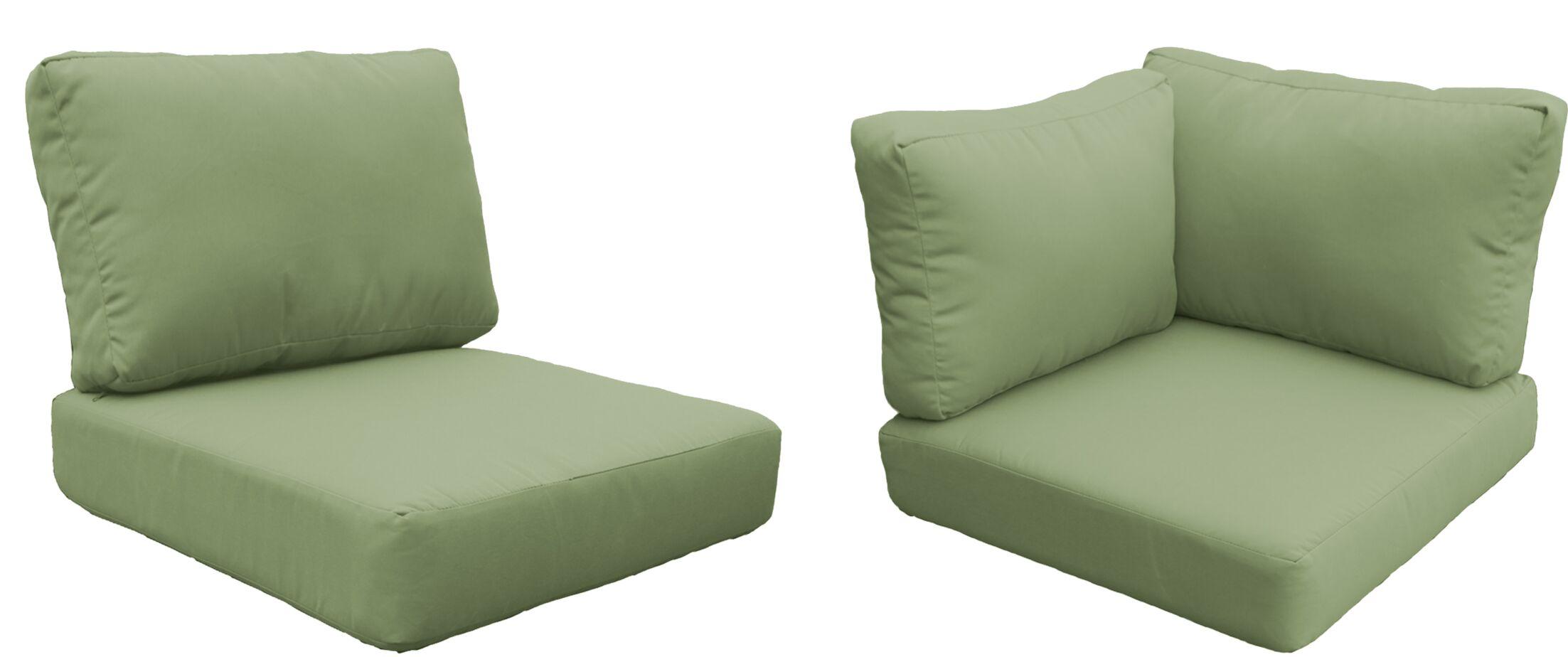 Coast OutdoorReplacement Cushion Set Fabric: Cilantro