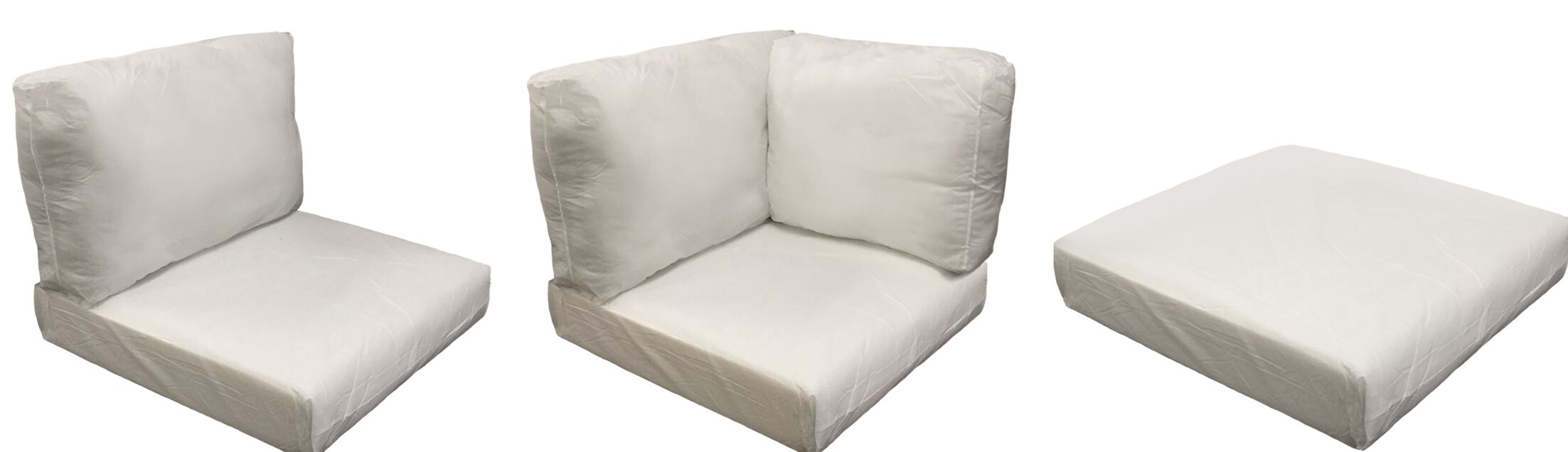 East Village Outdoor 25 Piece Lounge Chair Cushion Set