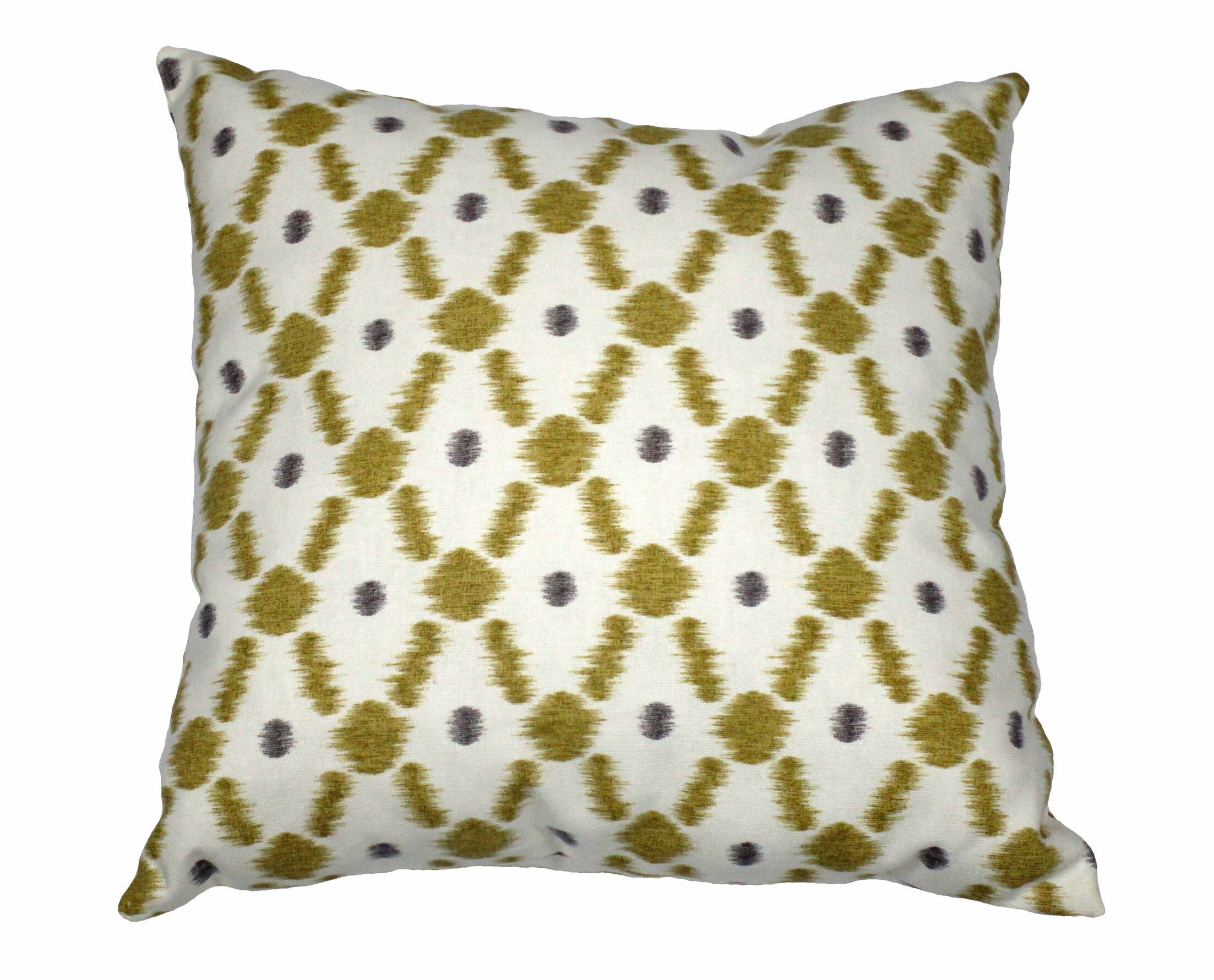 Konya Cotton Throw Pillow Color: Mink