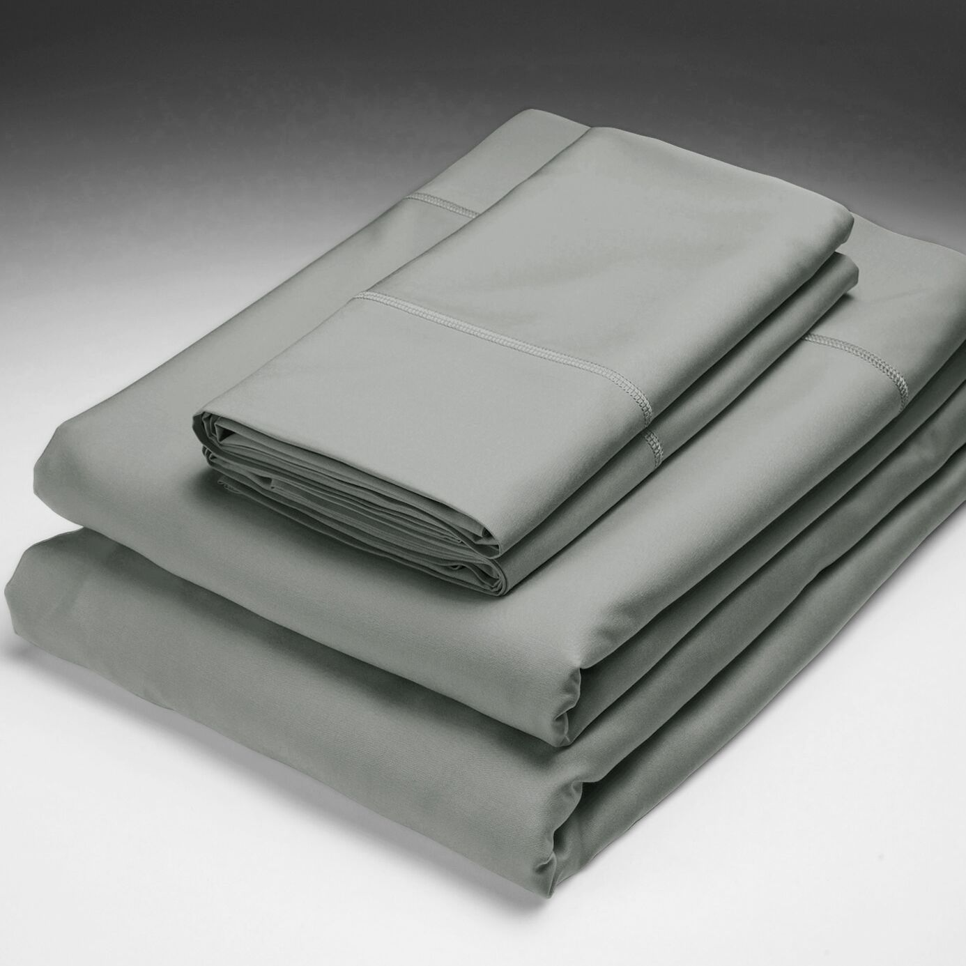 Rayon from Bamboo Pillowcase Size: King, Color: Black Pearl