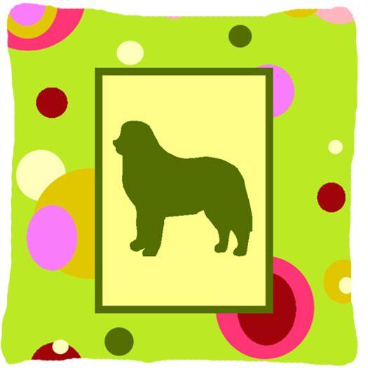 Modern Polka Dots Dog Indoor/Outdoor Throw Pillow