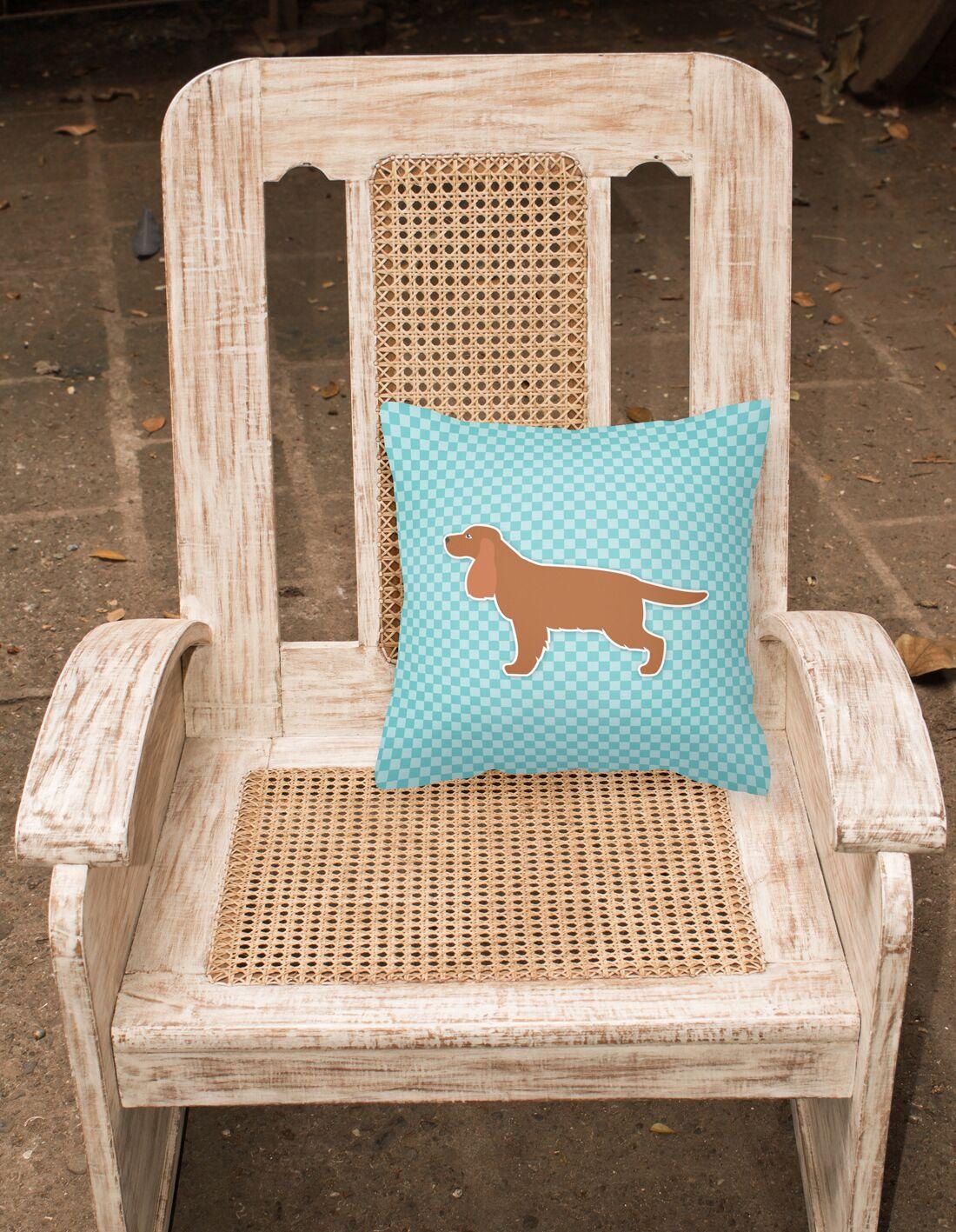 English Cocker Spaniel Indoor/Outdoor Throw Pillow Size: 14