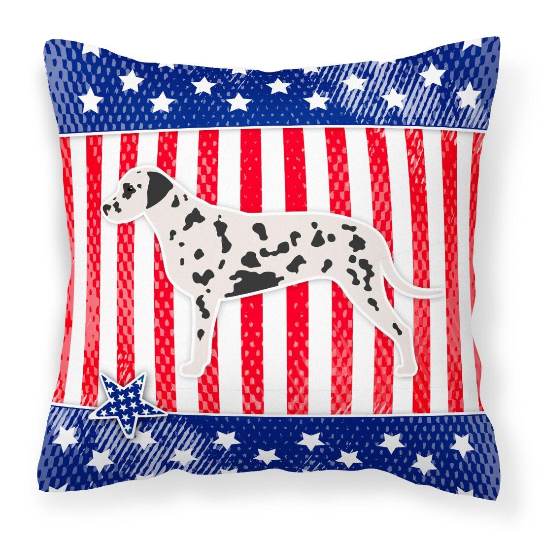 Patriotic Indoor/Outdoor Throw Pillow Size: 18
