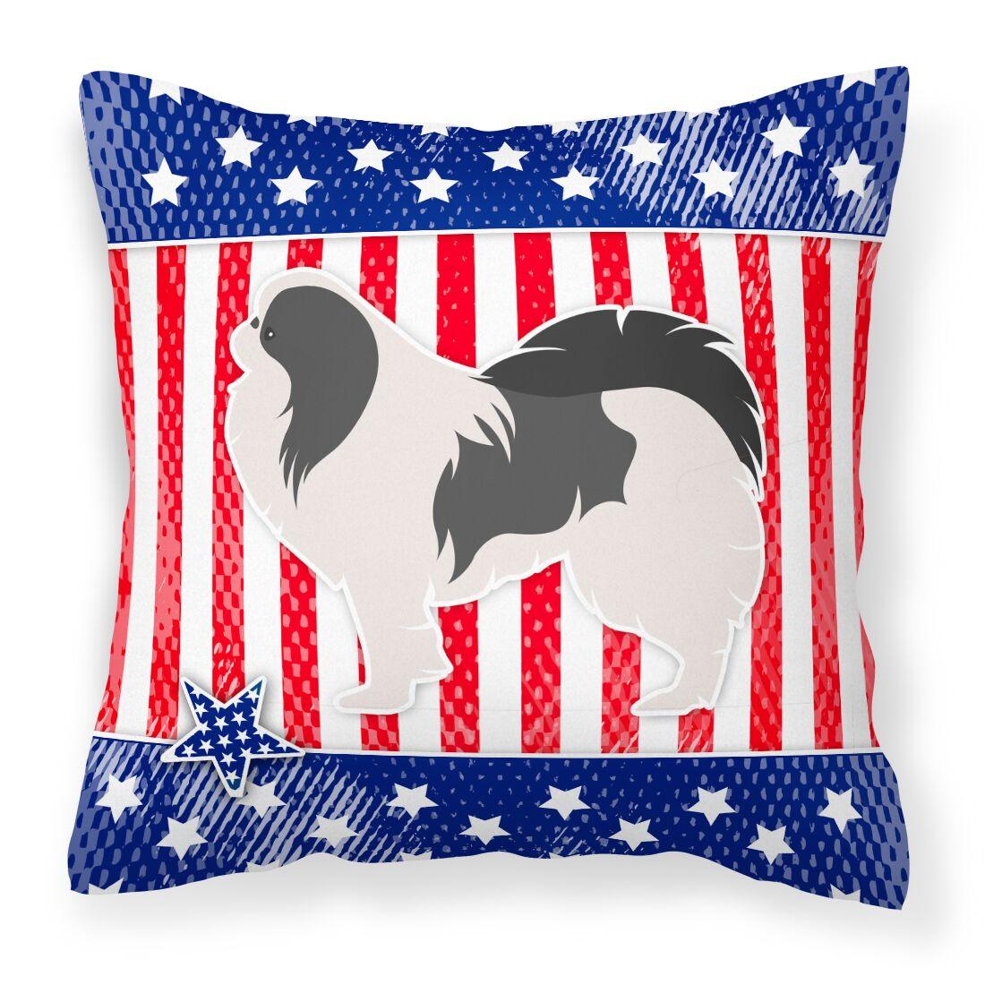 Patriotic Indoor/Outdoor Throw Pillow Size: 14