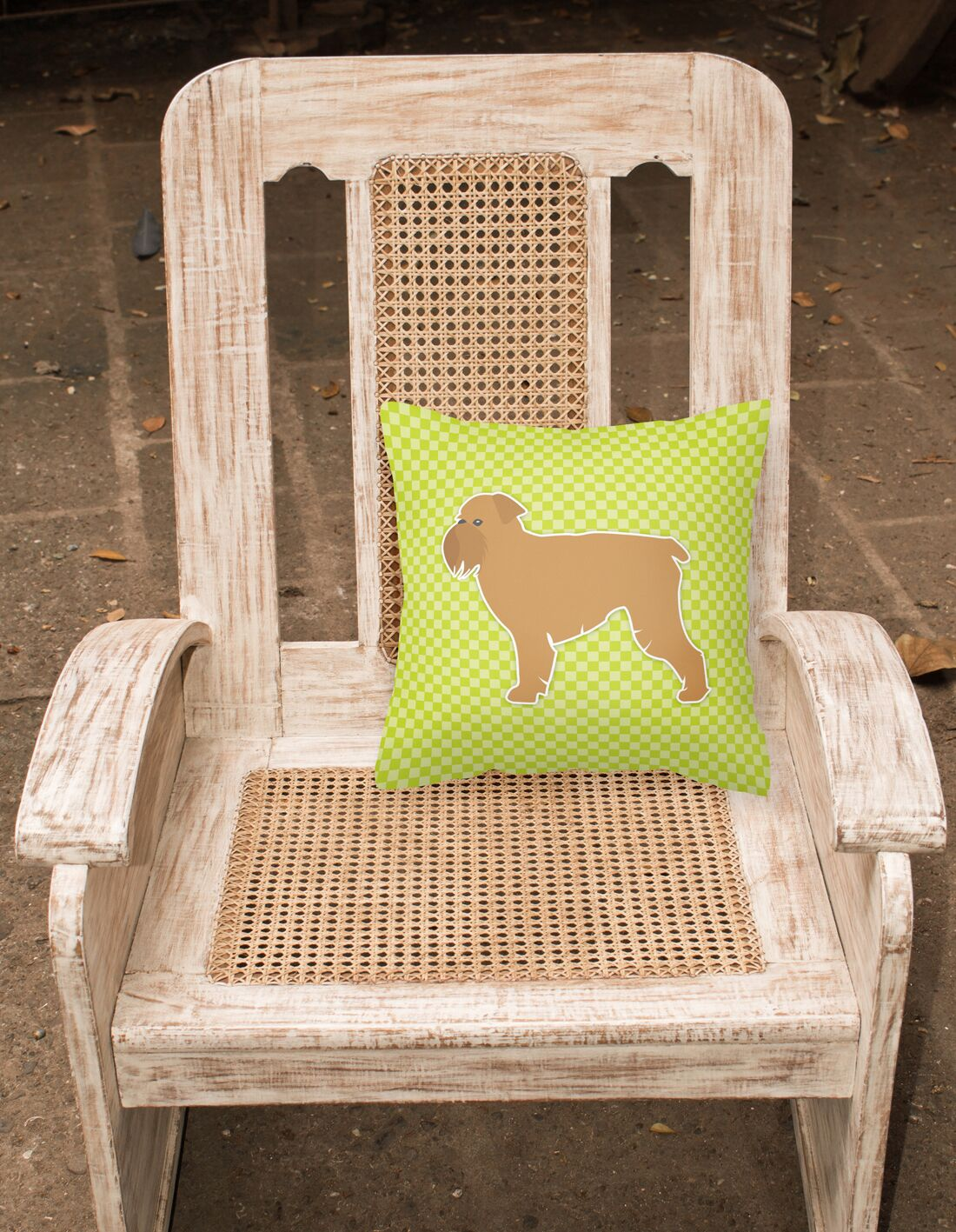 Brussels Griffon Indoor/Outdoor Throw Pillow Size: 14