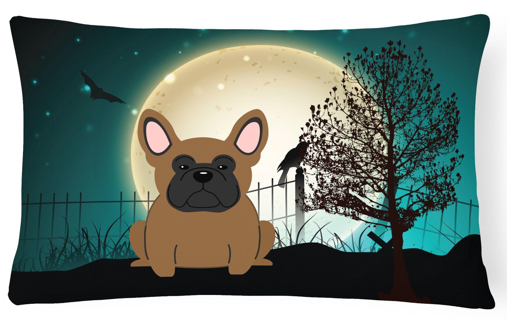 Testa Indoor/Outdoor Lumbar Pillow Color: Brown