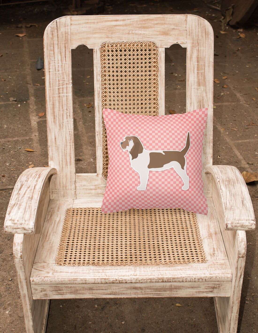 Grand Basset Griffon Vendeen Indoor/Outdoor Throw Pillow Size: 14
