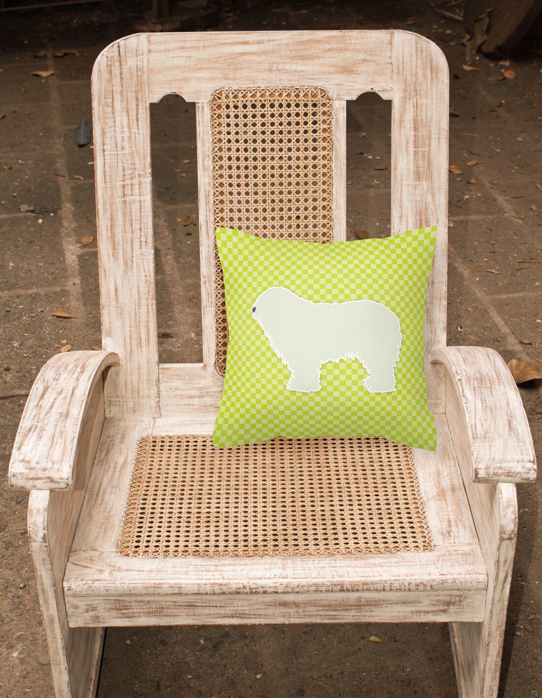 Komondor Indoor/Outdoor Throw Pillow Size: 14