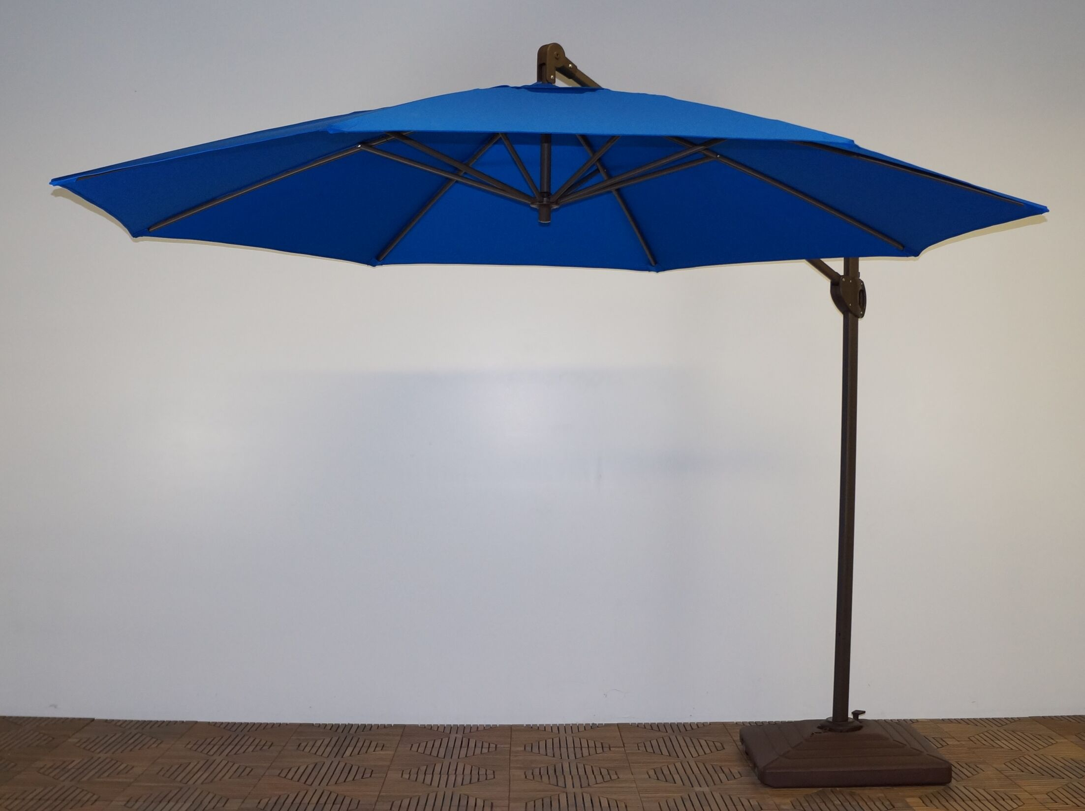 11' Cantilever Umbrella Fabric: Pacific Blue