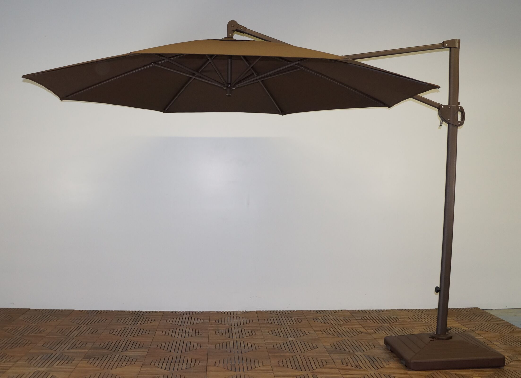 11' Cantilever Umbrella Fabric: Kona Brown