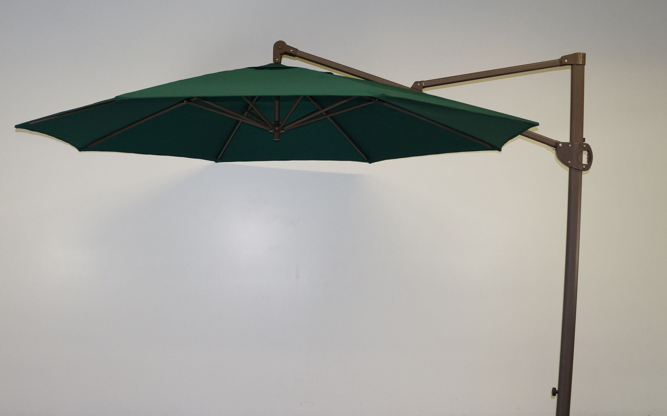 11' Cantilever Umbrella Fabric: Forest Green