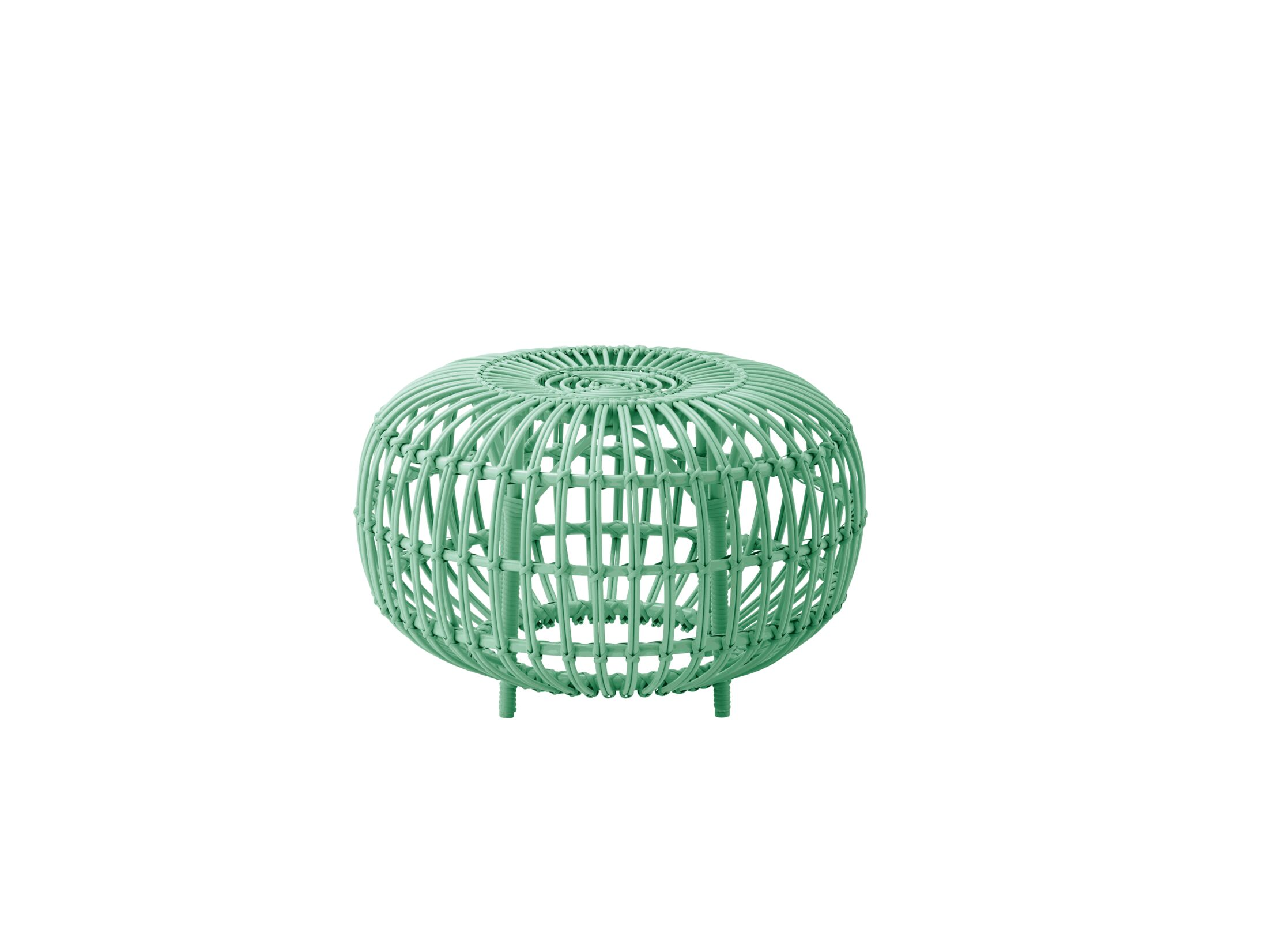 Pinesdale Outdoor Ottoman Finish: Mint