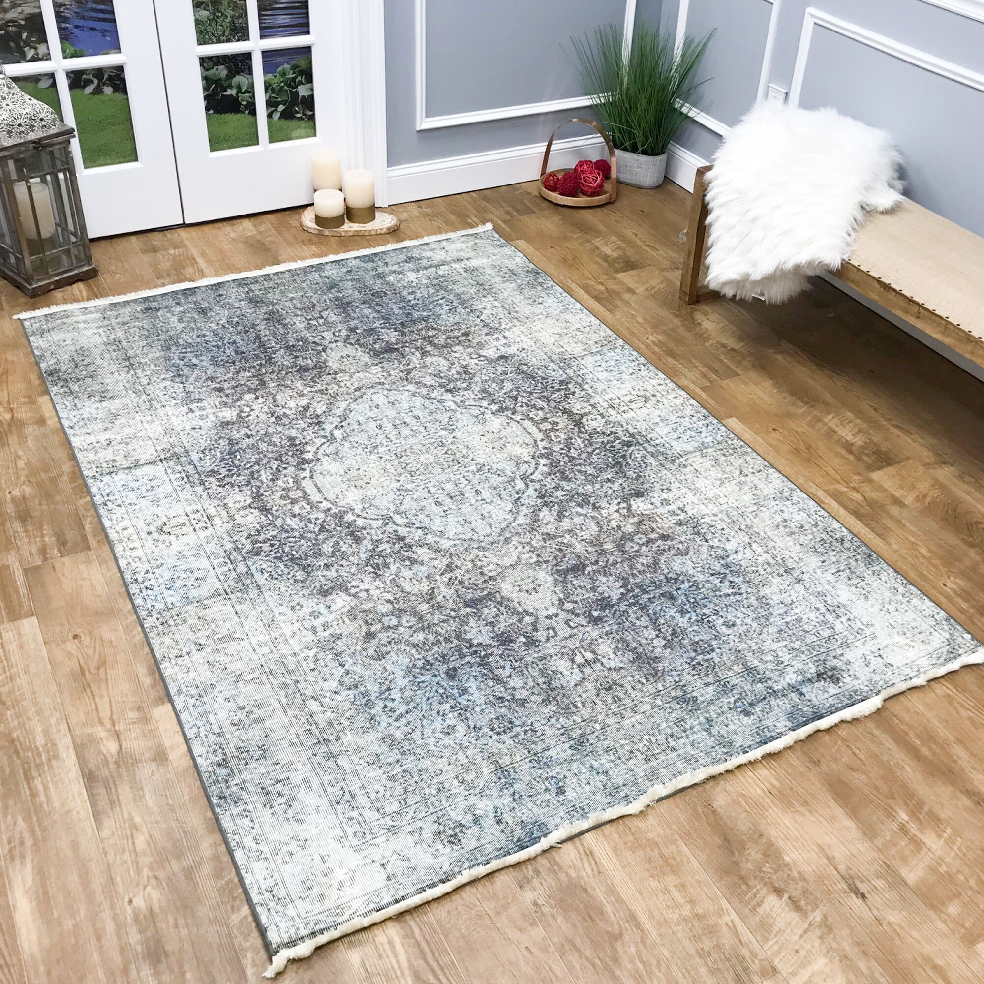 Covin Area Rug Rug Size: Rectangle 5'3